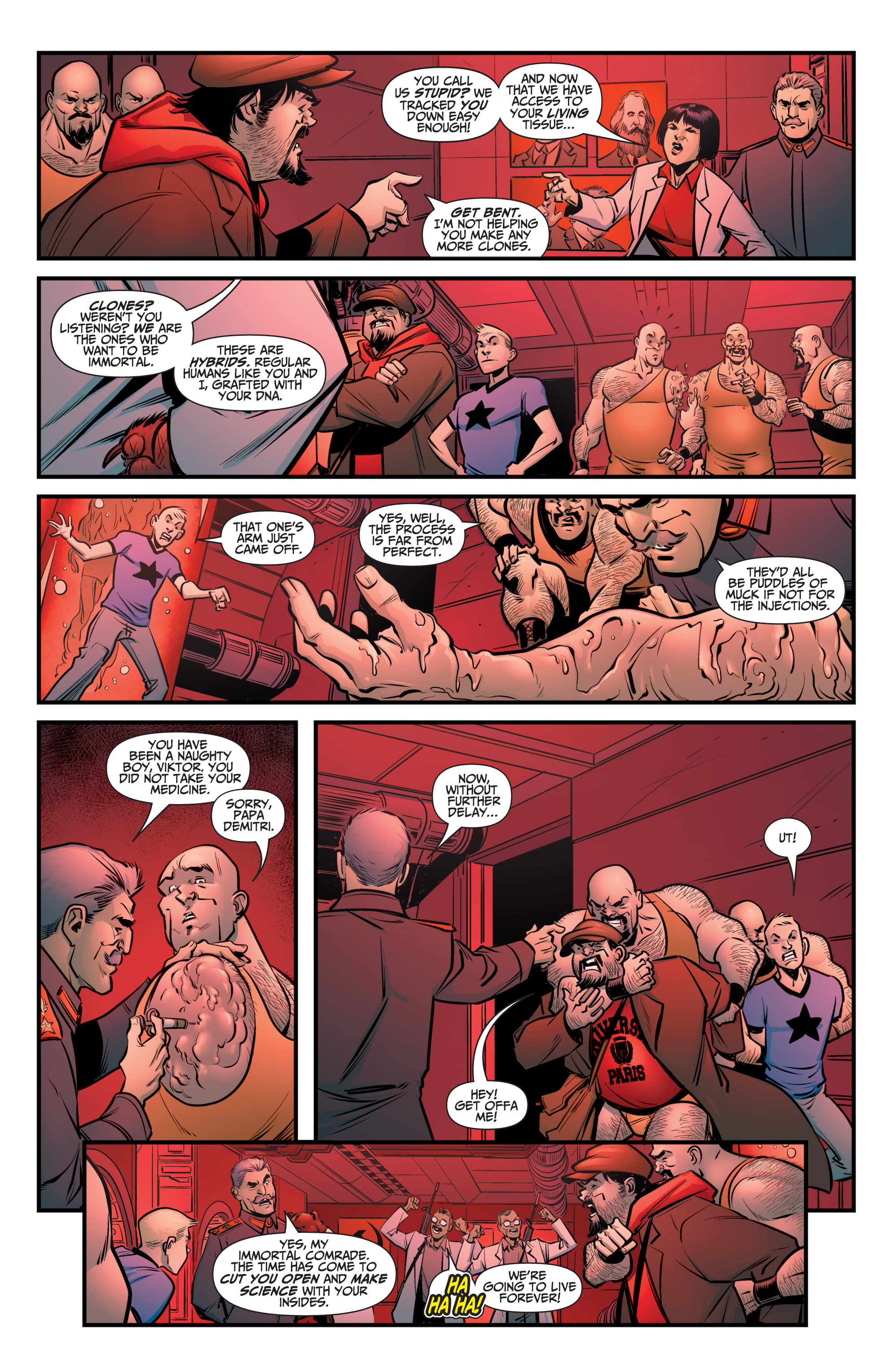 Read online A&A: The Adventures of Archer & Armstrong comic -  Issue #8 - 6