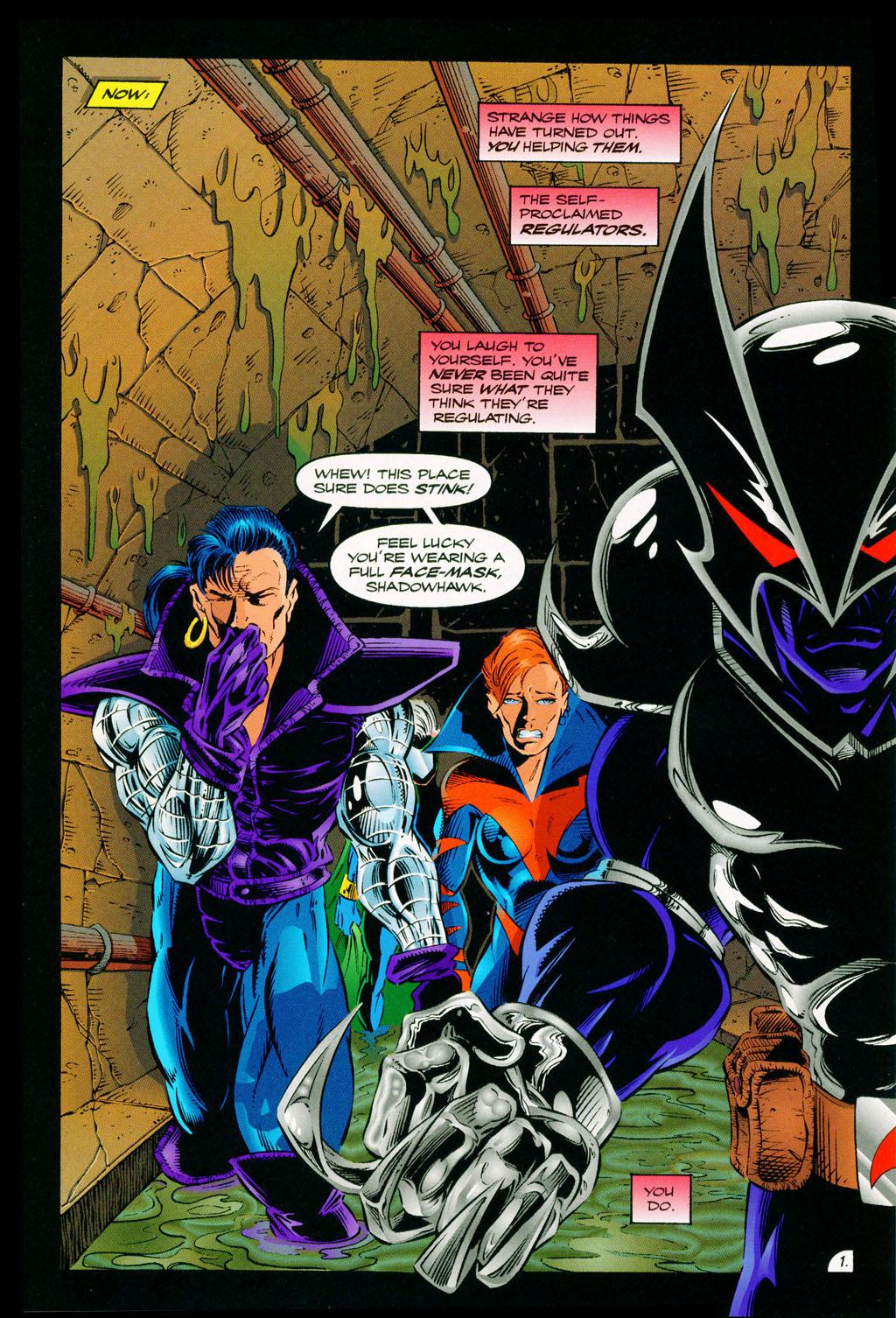 Read online ShadowHawk comic -  Issue #11 - 3