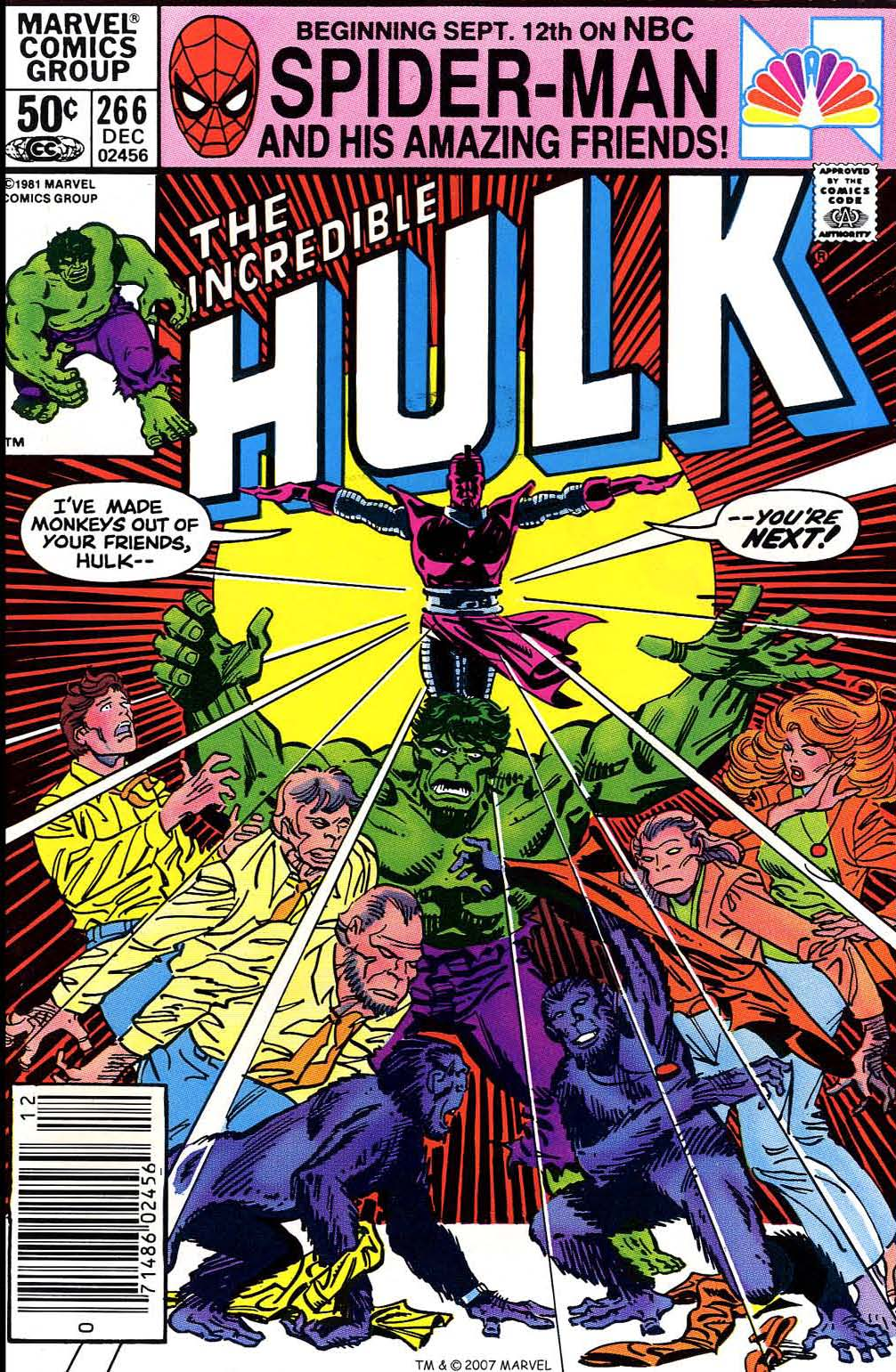 The Incredible Hulk (1968) issue 266 - Page 1