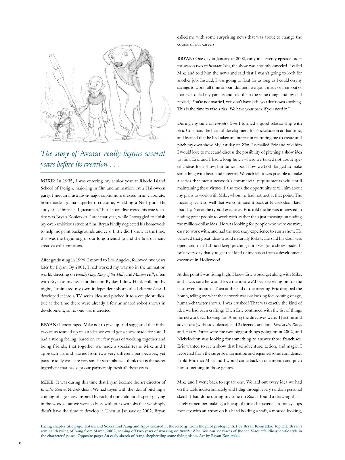 Read online Avatar: The Last Airbender - The Art of the Animated Series comic -  Issue # TPB (Part 1) - 13