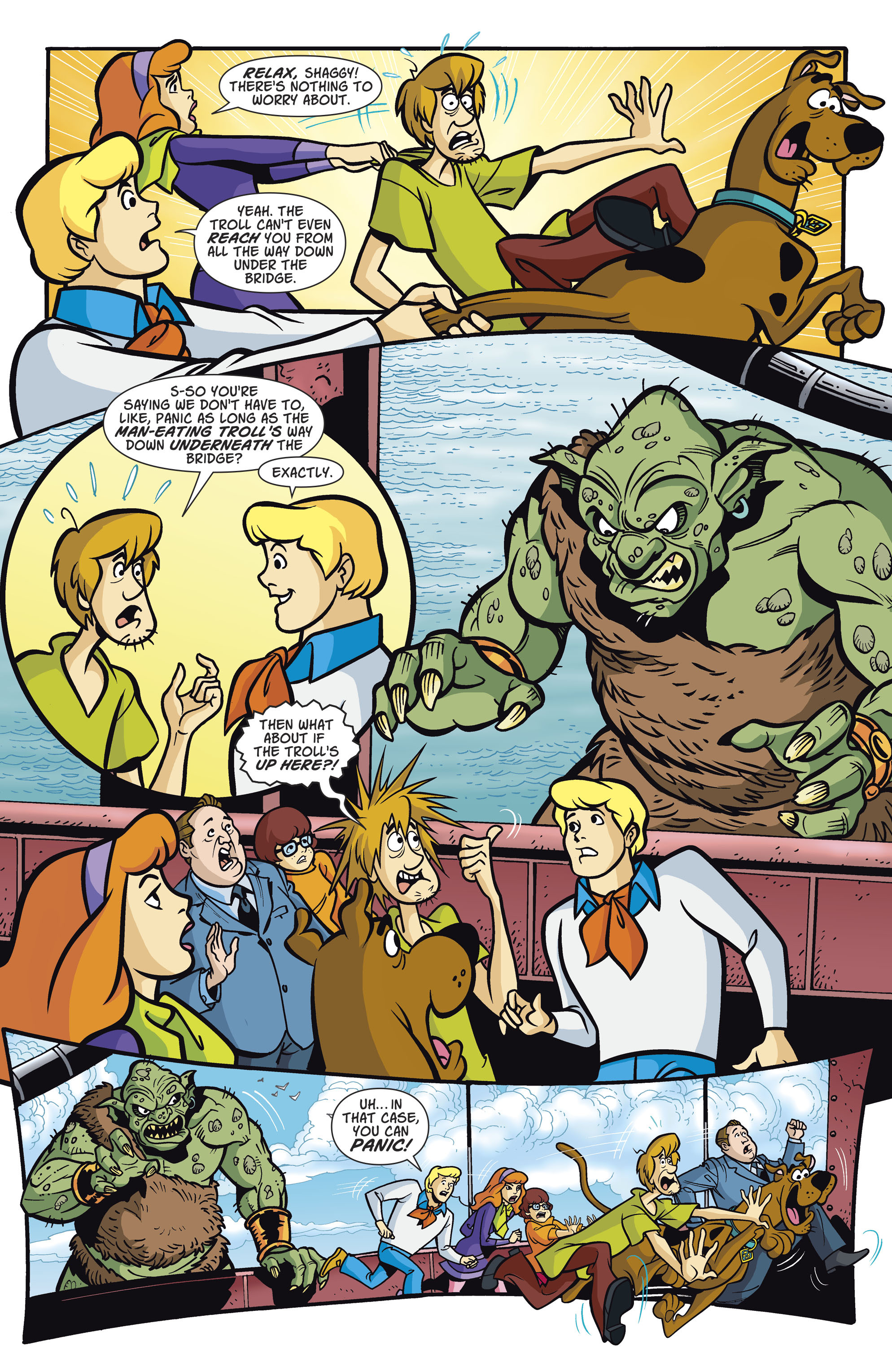 Read online Scooby-Doo: Where Are You? comic -  Issue #81 - 5