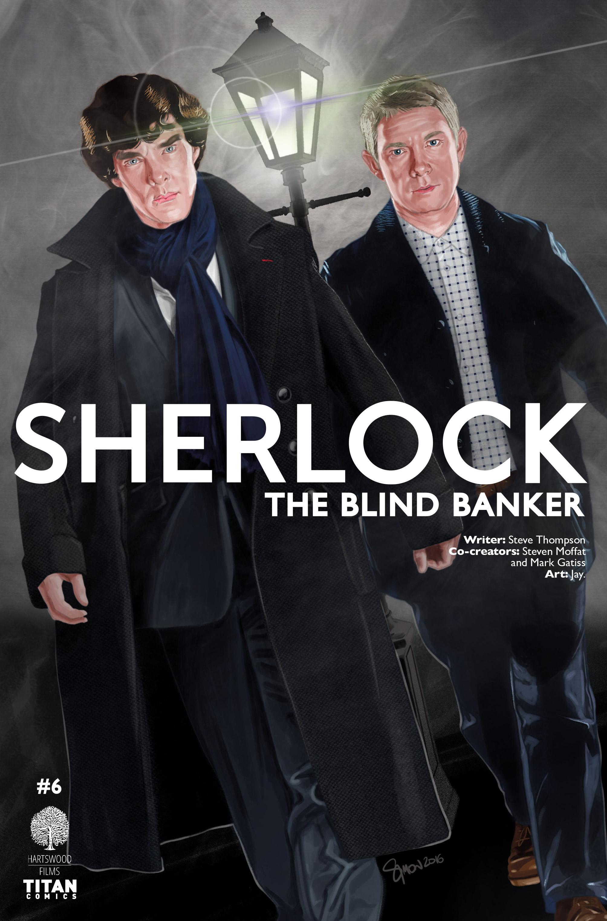 Read online Sherlock: The Blind Banker comic -  Issue #6 - 3