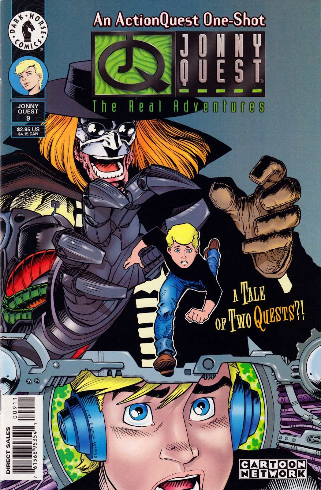 Read online The Real Adventures of Jonny Quest comic -  Issue #9 - 1