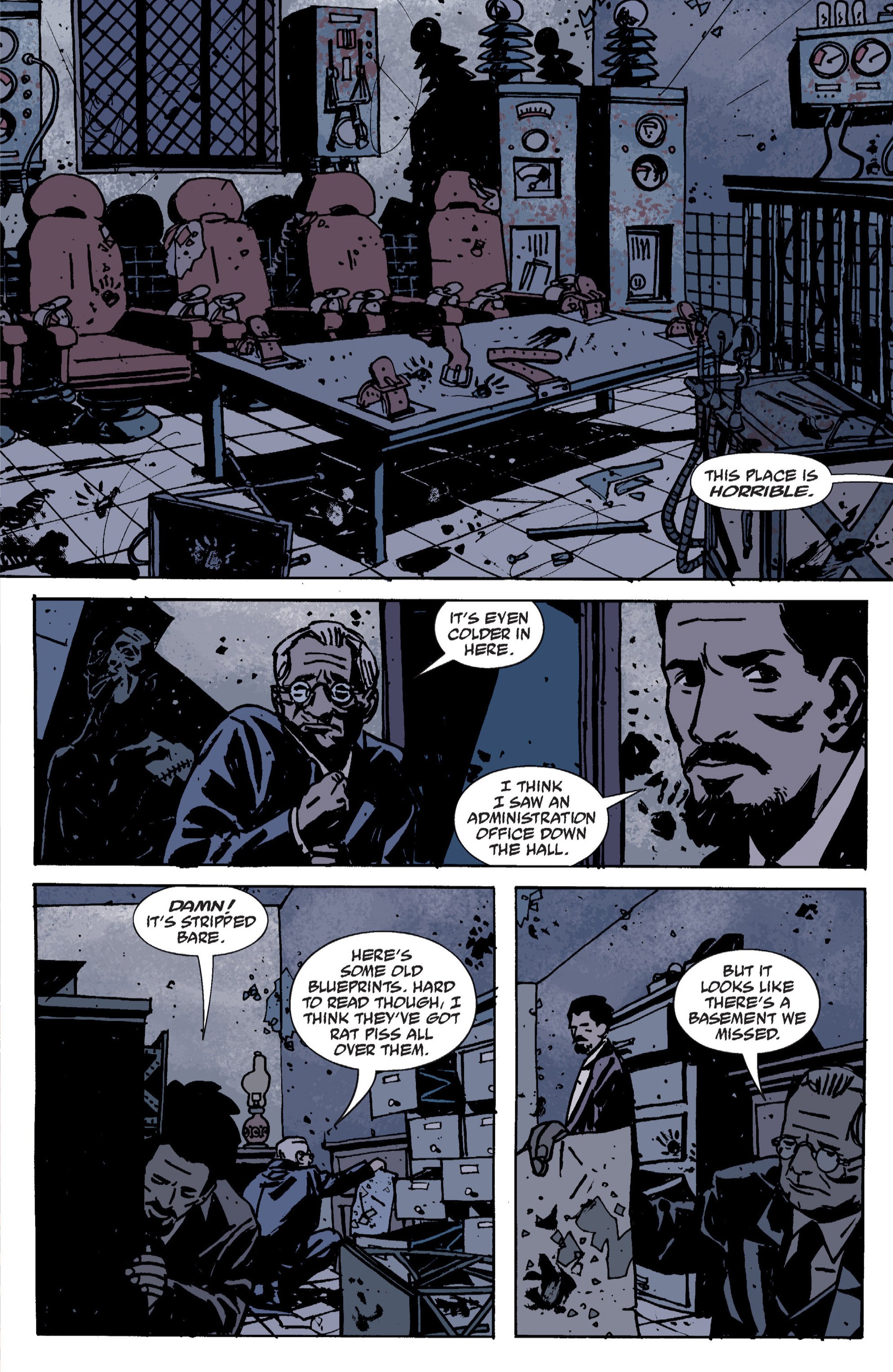 Read online B.P.R.D. (2003) comic -  Issue # TPB 9 - 30