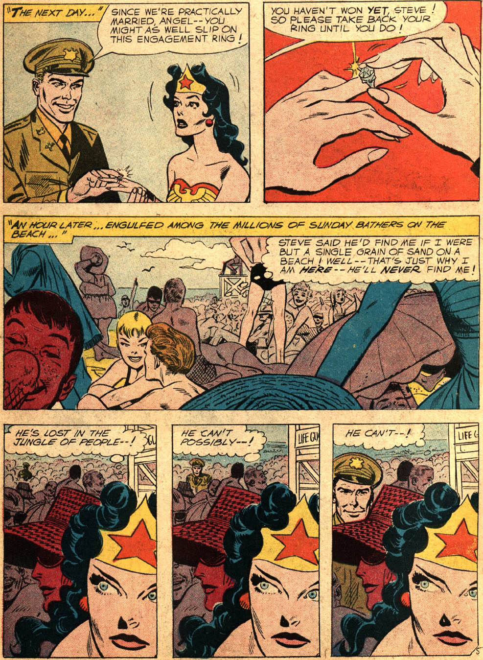 Read online Wonder Woman (1942) comic -  Issue #99 - 27