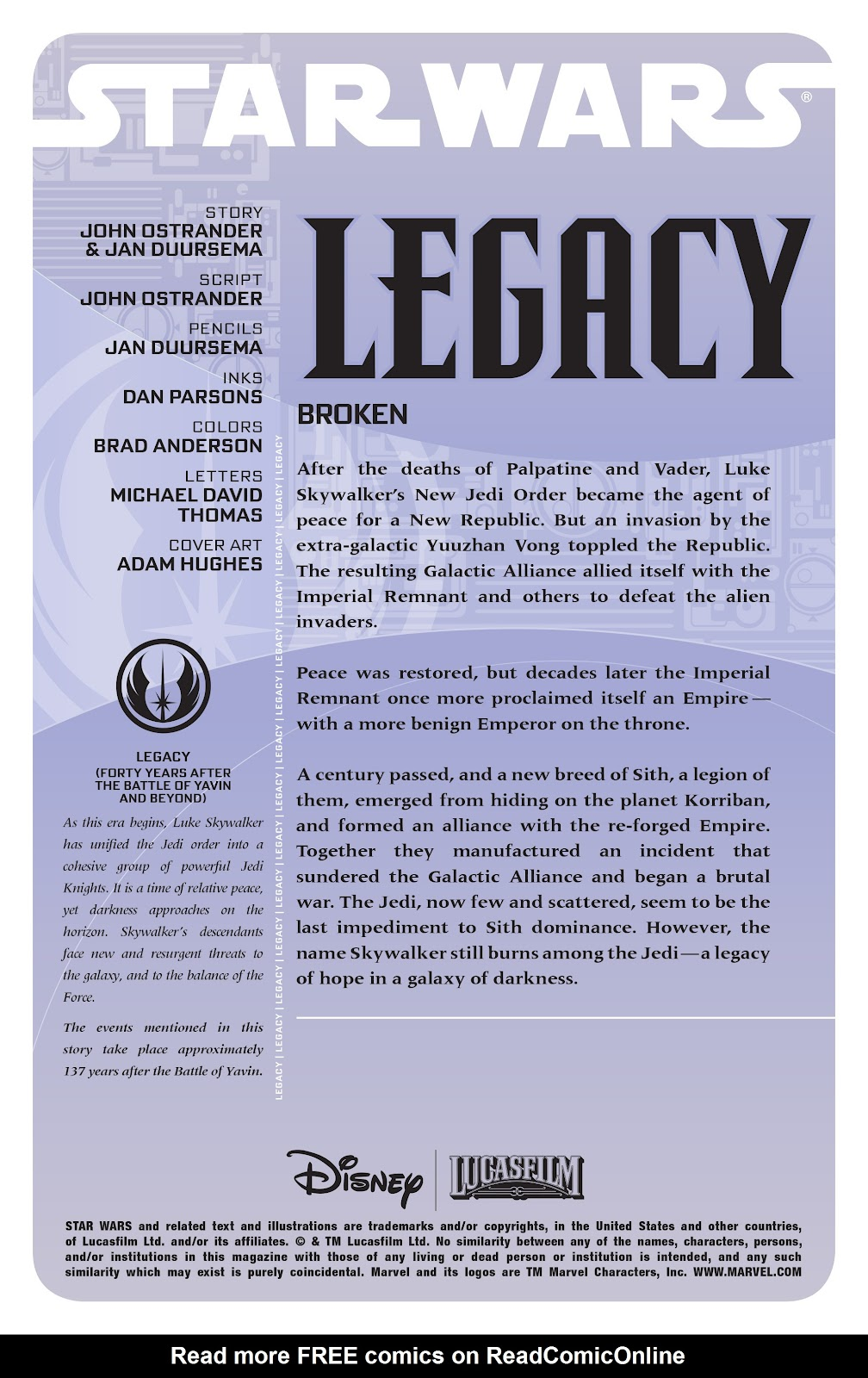 Read online Star Wars Legends: Legacy - Epic Collection comic -  Issue # TPB 1 (Part 1) - 6