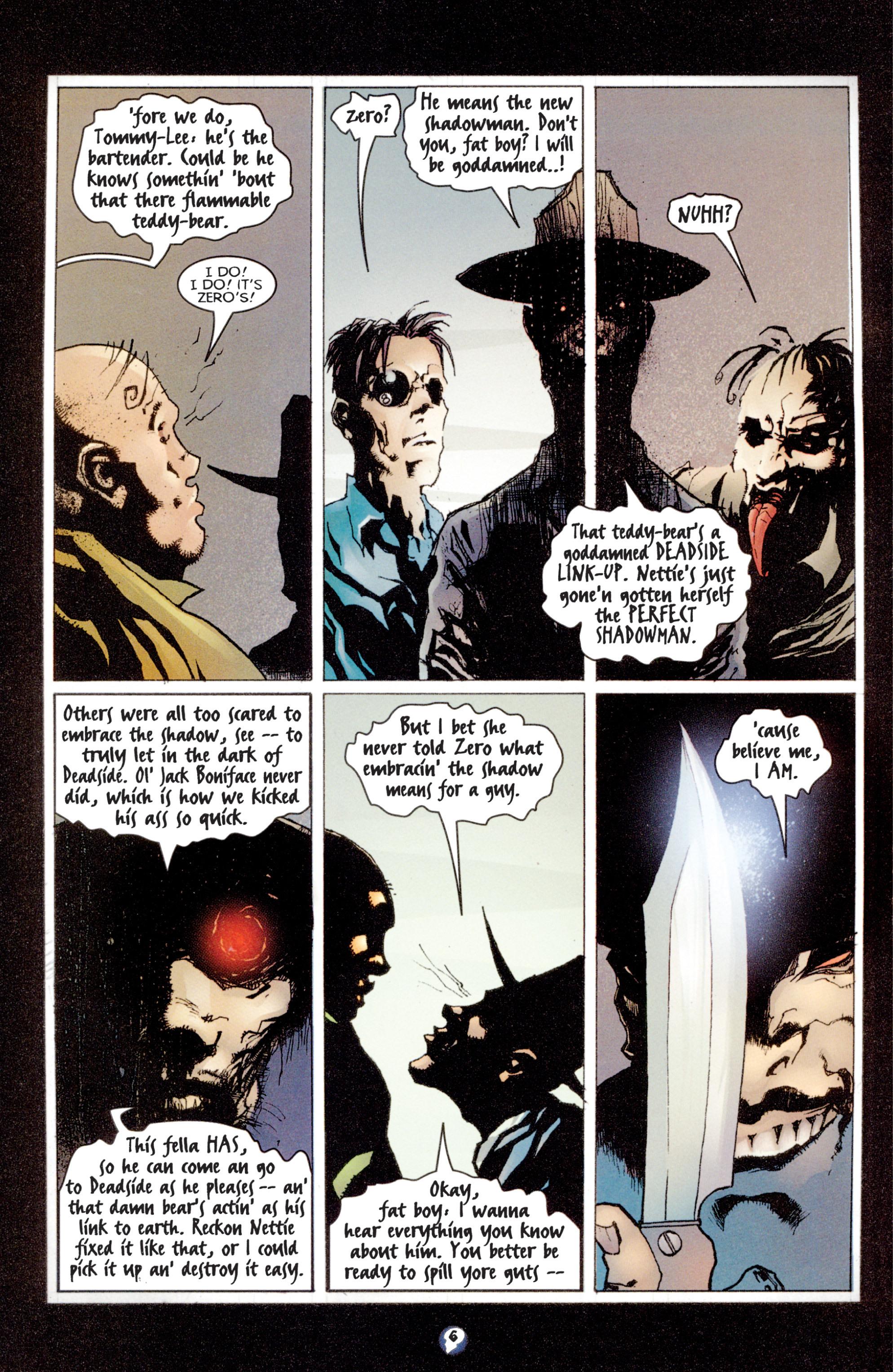 Read online Shadowman (1997) comic -  Issue #3 - 6