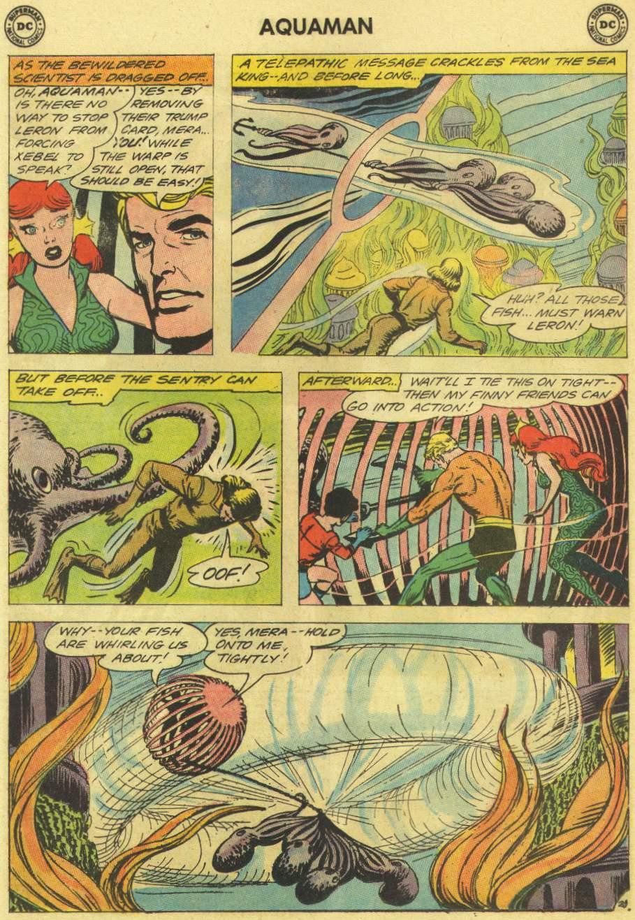 Read online Aquaman (1962) comic -  Issue #11 - 28
