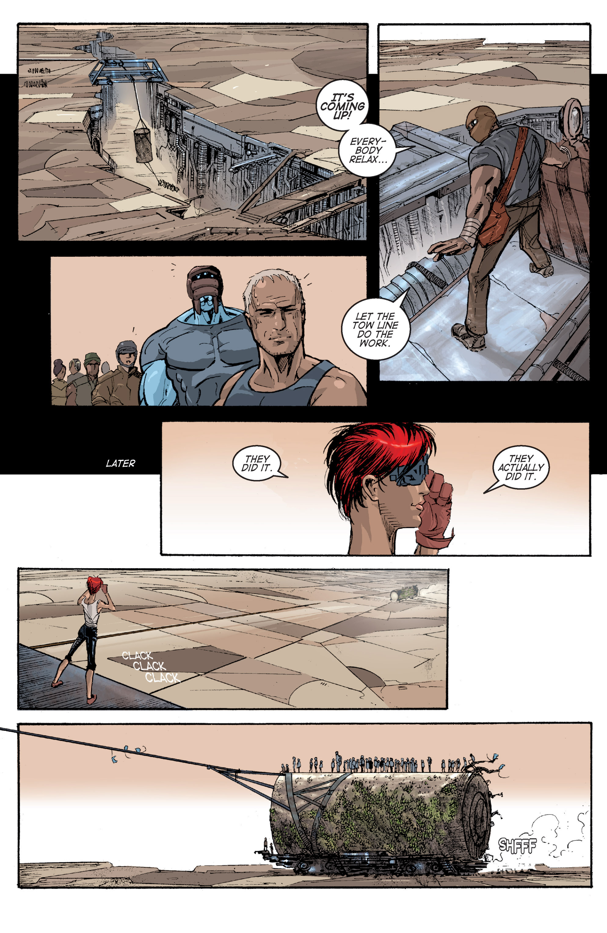 Read online Planetoid comic -  Issue # TPB - 97