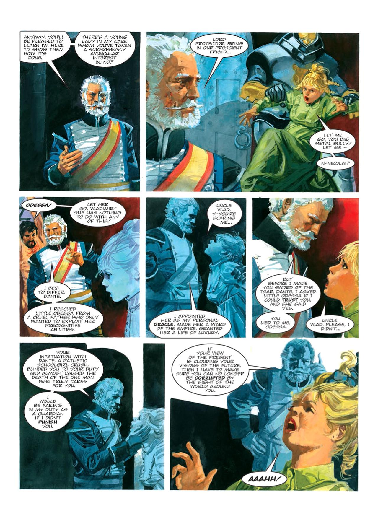 Read online Nikolai Dante comic -  Issue # TPB 9 - 88
