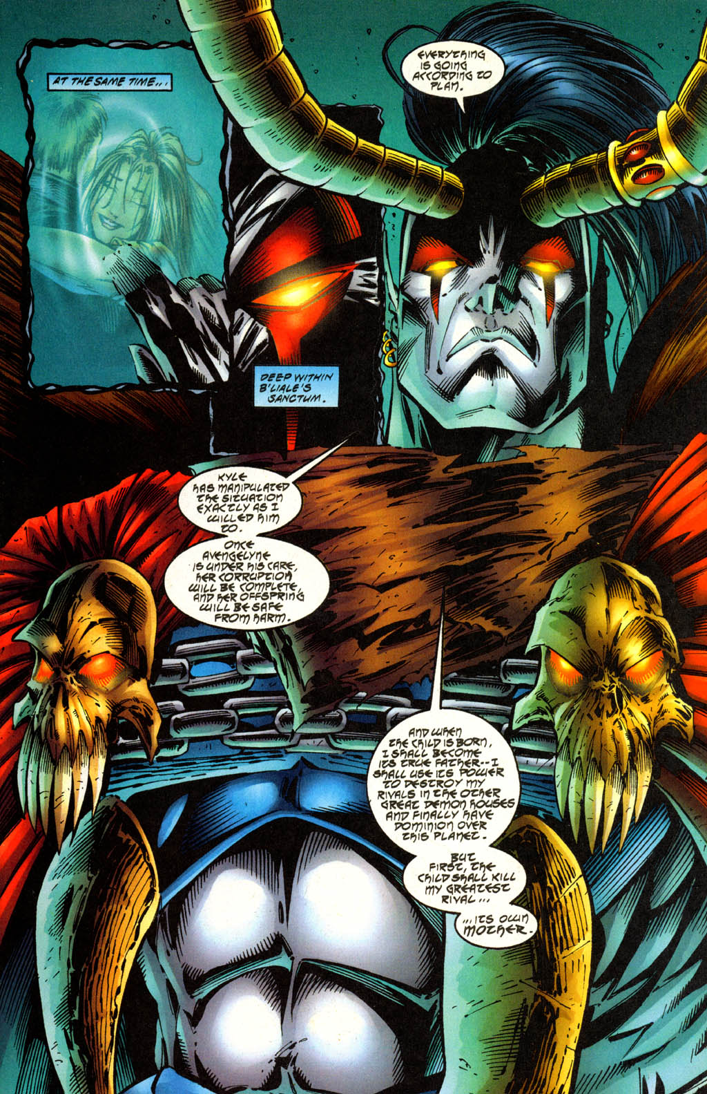 Read online Avengelyne (1996) comic -  Issue #2 - 11