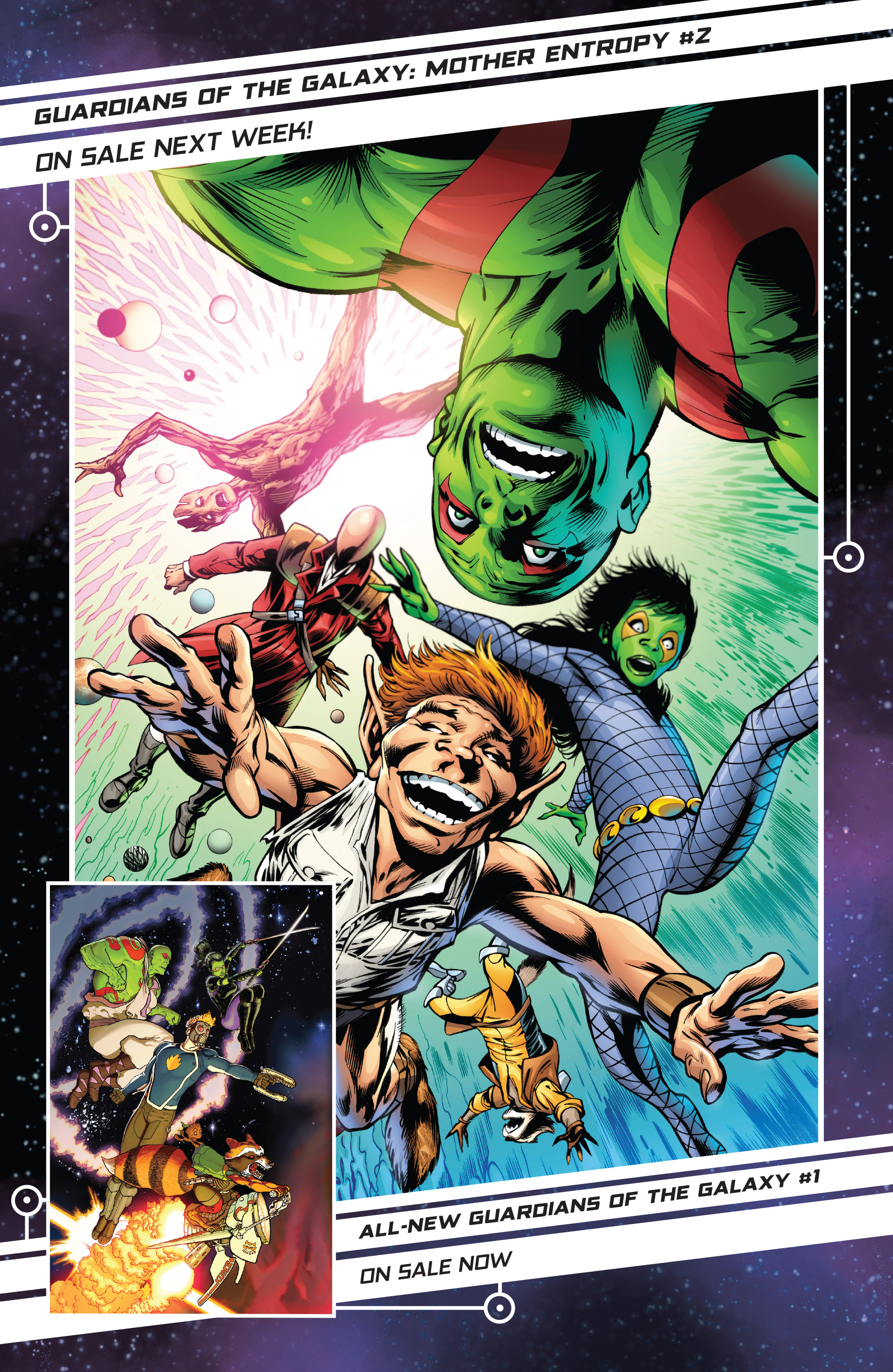 Read online Guardians of the Galaxy: Mother Entropy comic -  Issue #1 - 21
