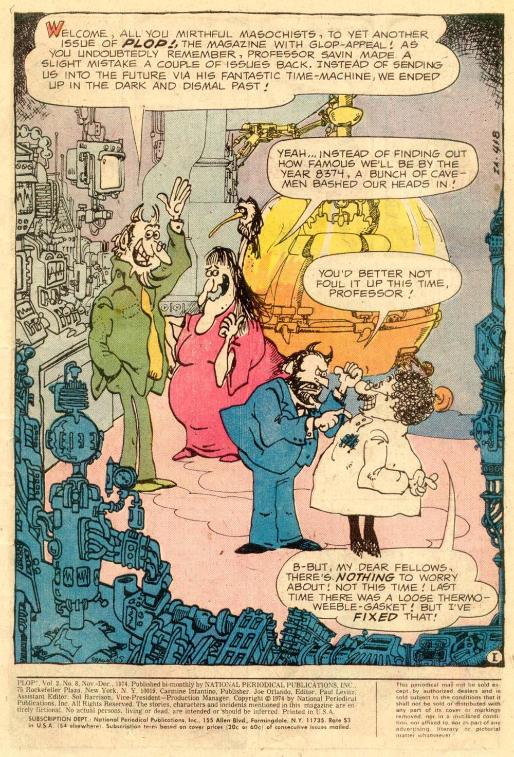 Read online Plop! comic -  Issue #8 - 3