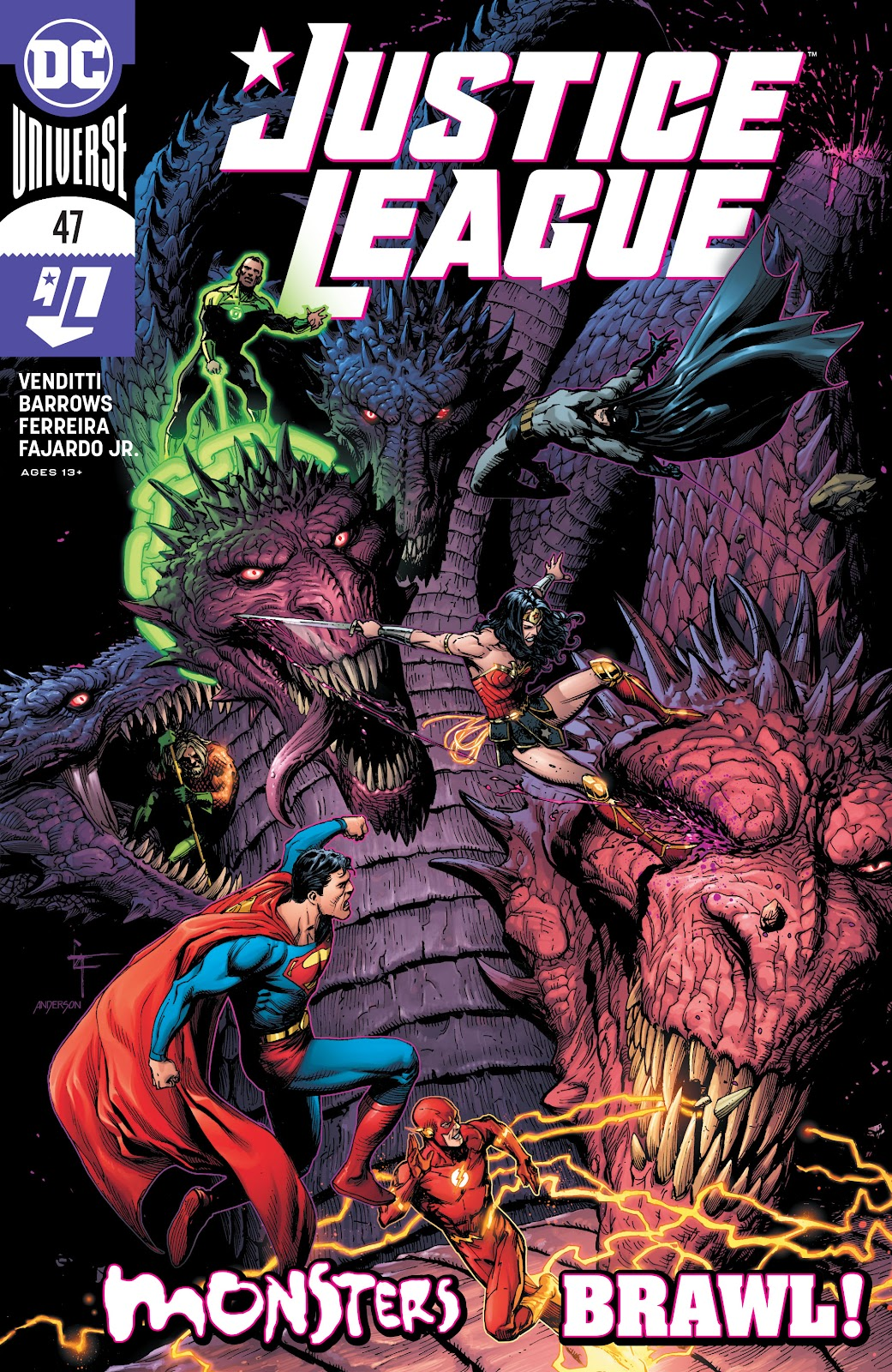 Justice League (2018) issue 47 - Page 1