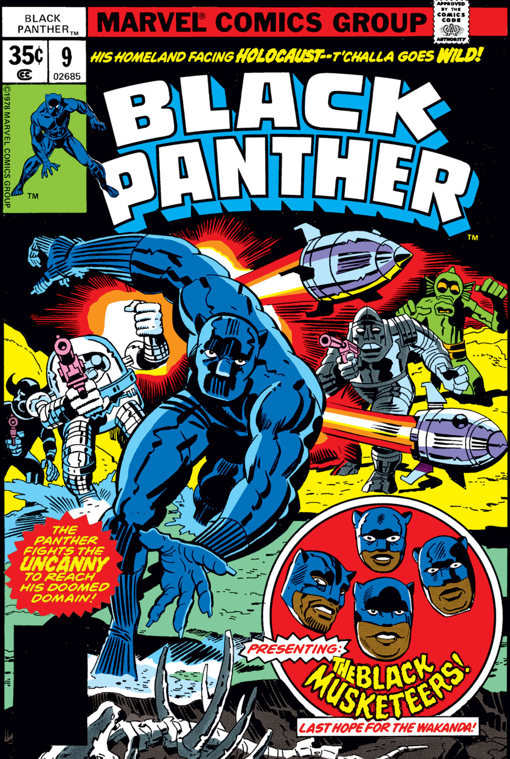 Black Panther (1977) issue 9 - Page 1