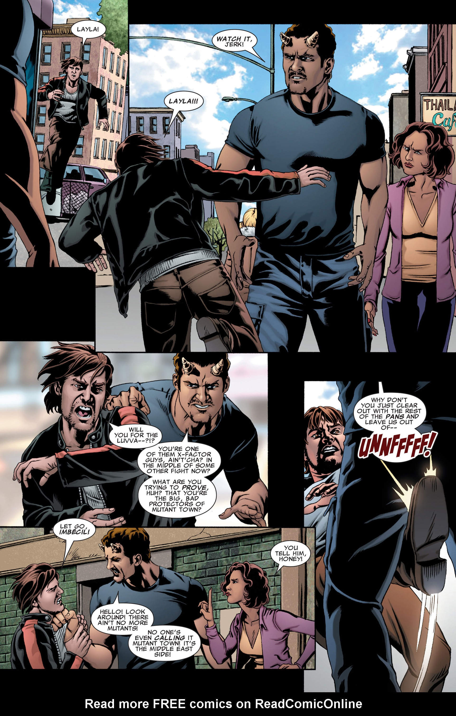 Read online X-Factor (2006) comic -  Issue #28 - 8