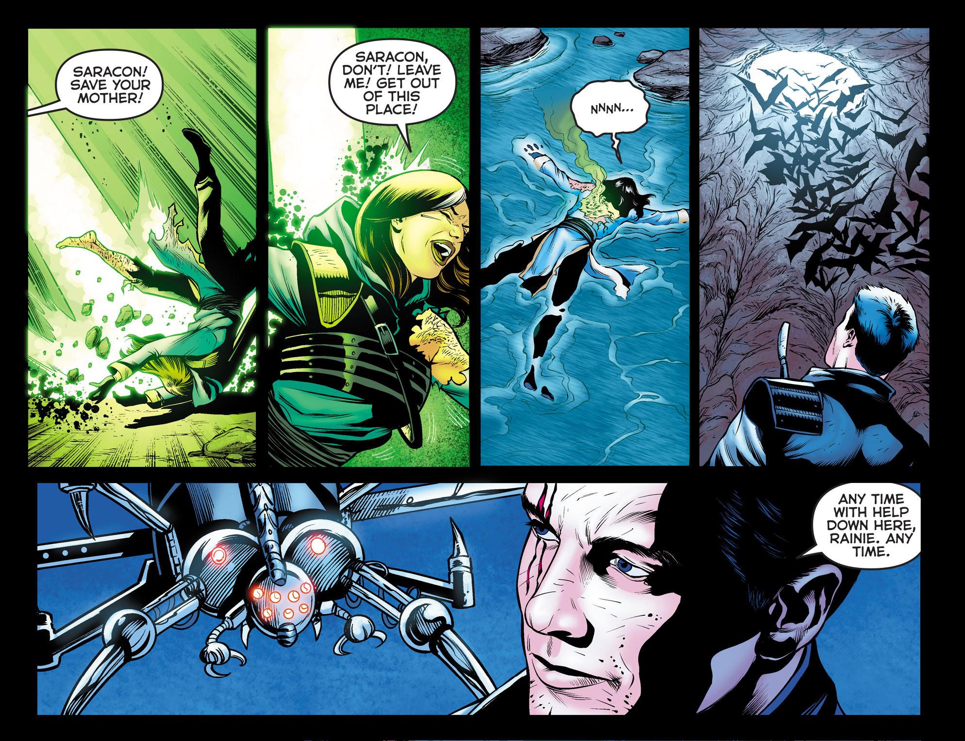 Read online Arrow: The Dark Archer comic -  Issue #10 - 21