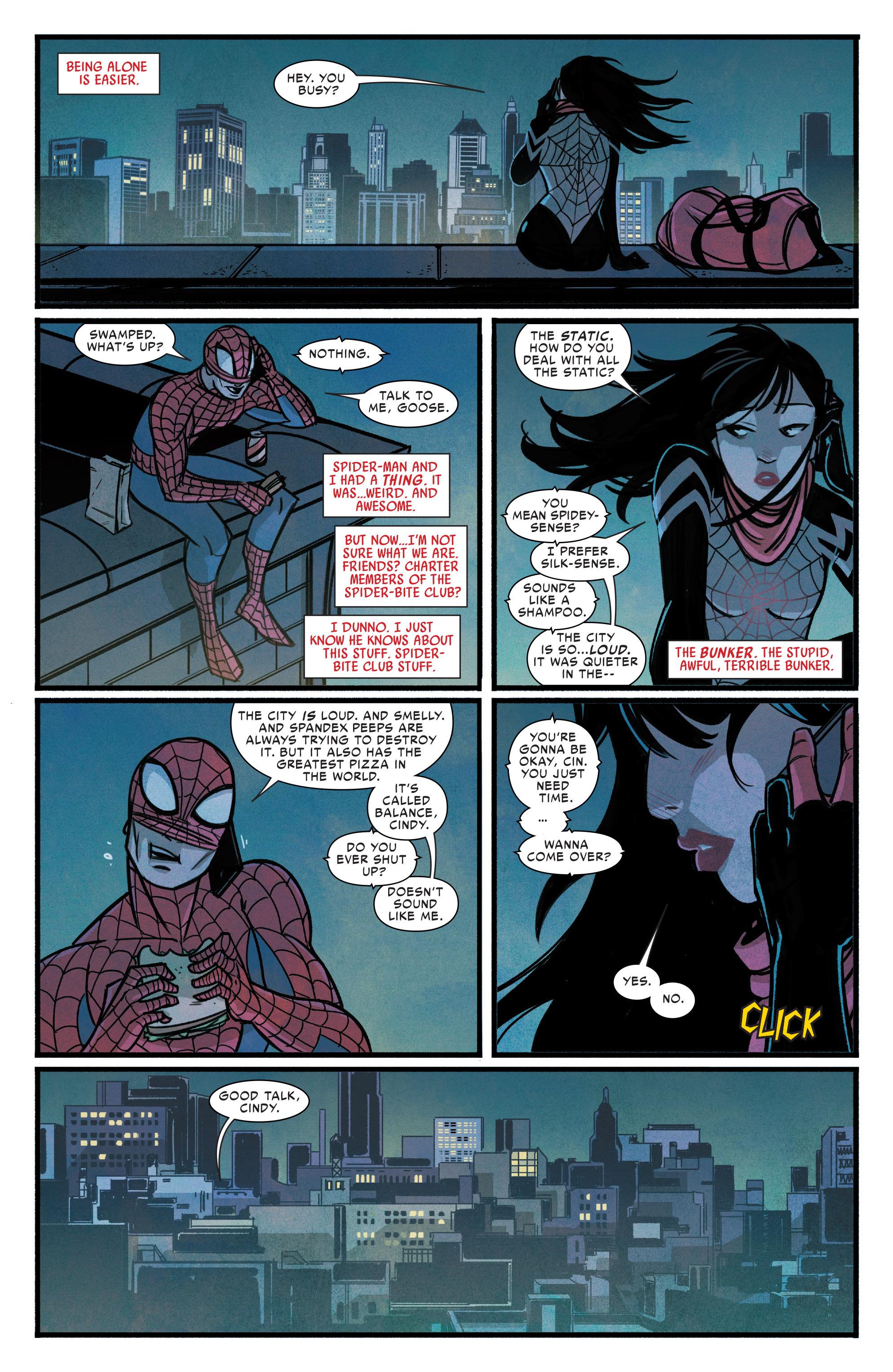Read online Silk (2015) comic -  Issue #1 - 16
