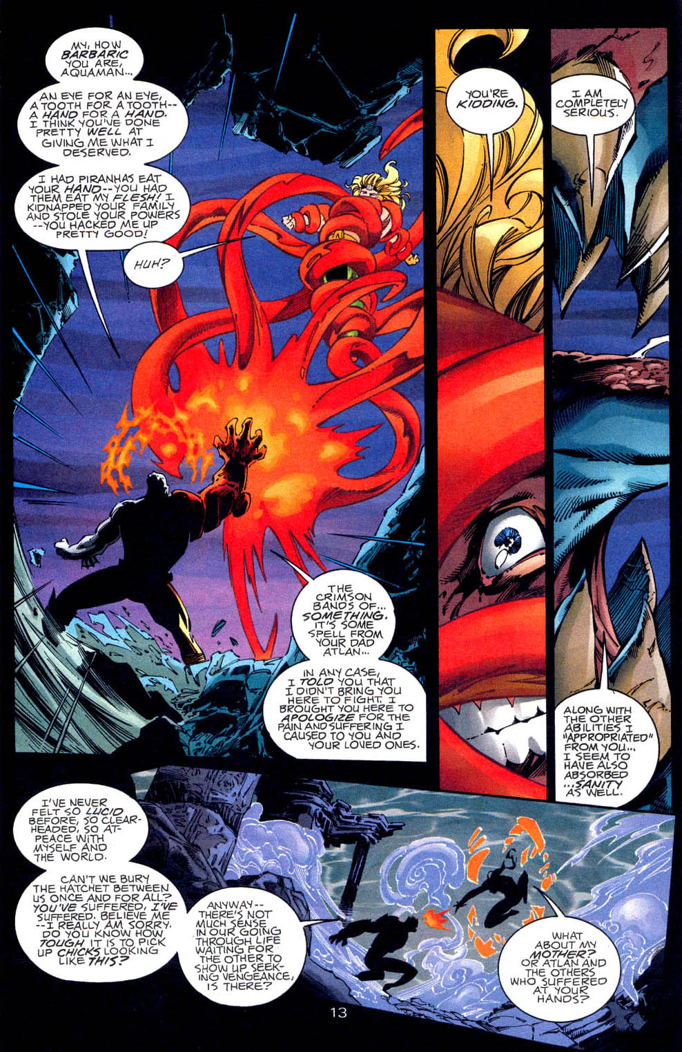 Read online Aquaman (1994) comic -  Issue #62 - 14