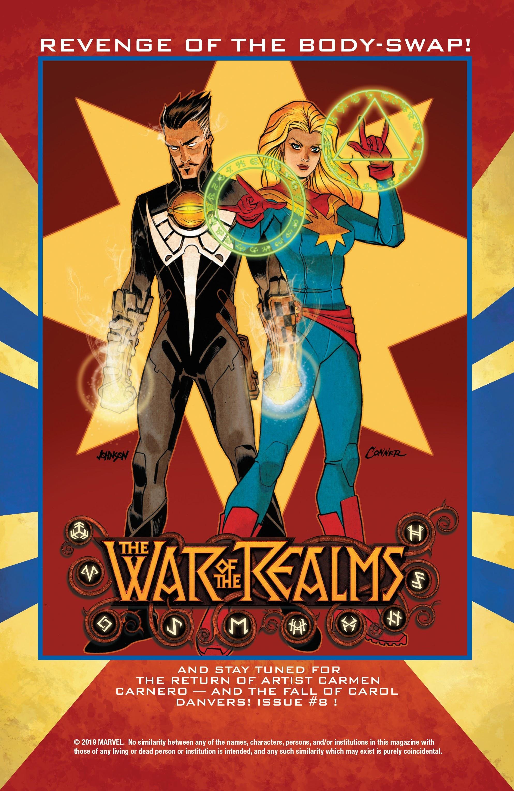 Read online Captain Marvel (2019) comic -  Issue #6 - 23