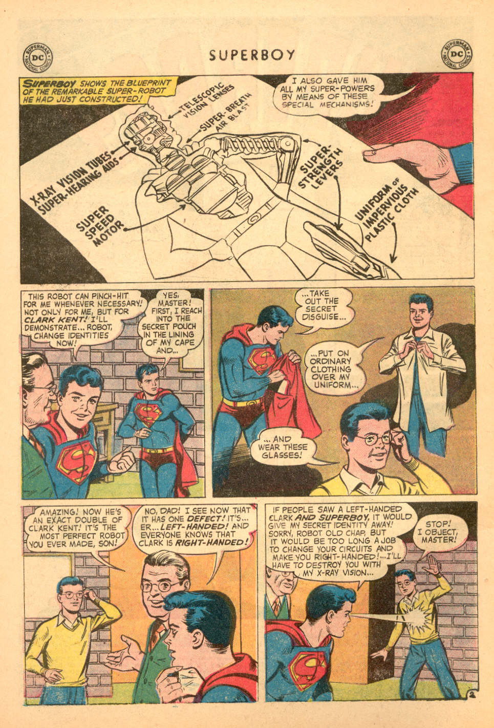 Superboy (1949) issue 72 - Page 3
