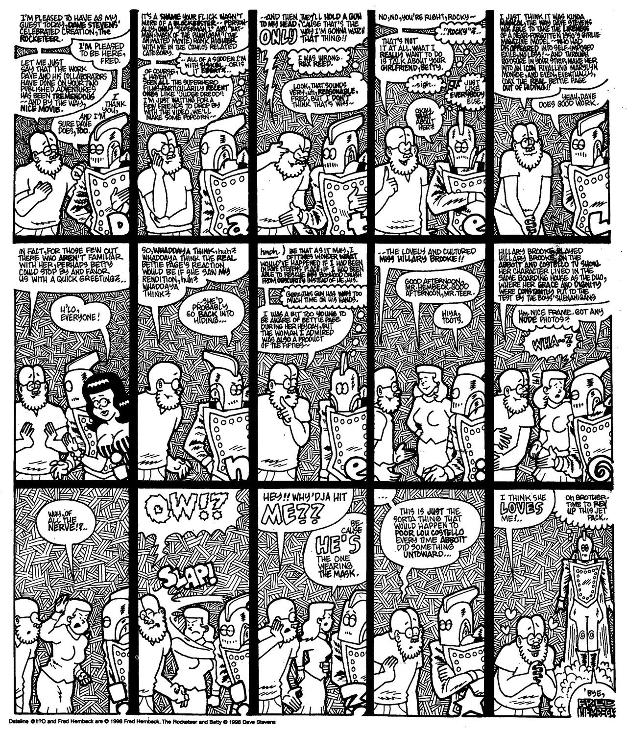 Read online The Nearly Complete Essential Hembeck Archives Omnibus comic -  Issue # TPB (Part 7) - 45
