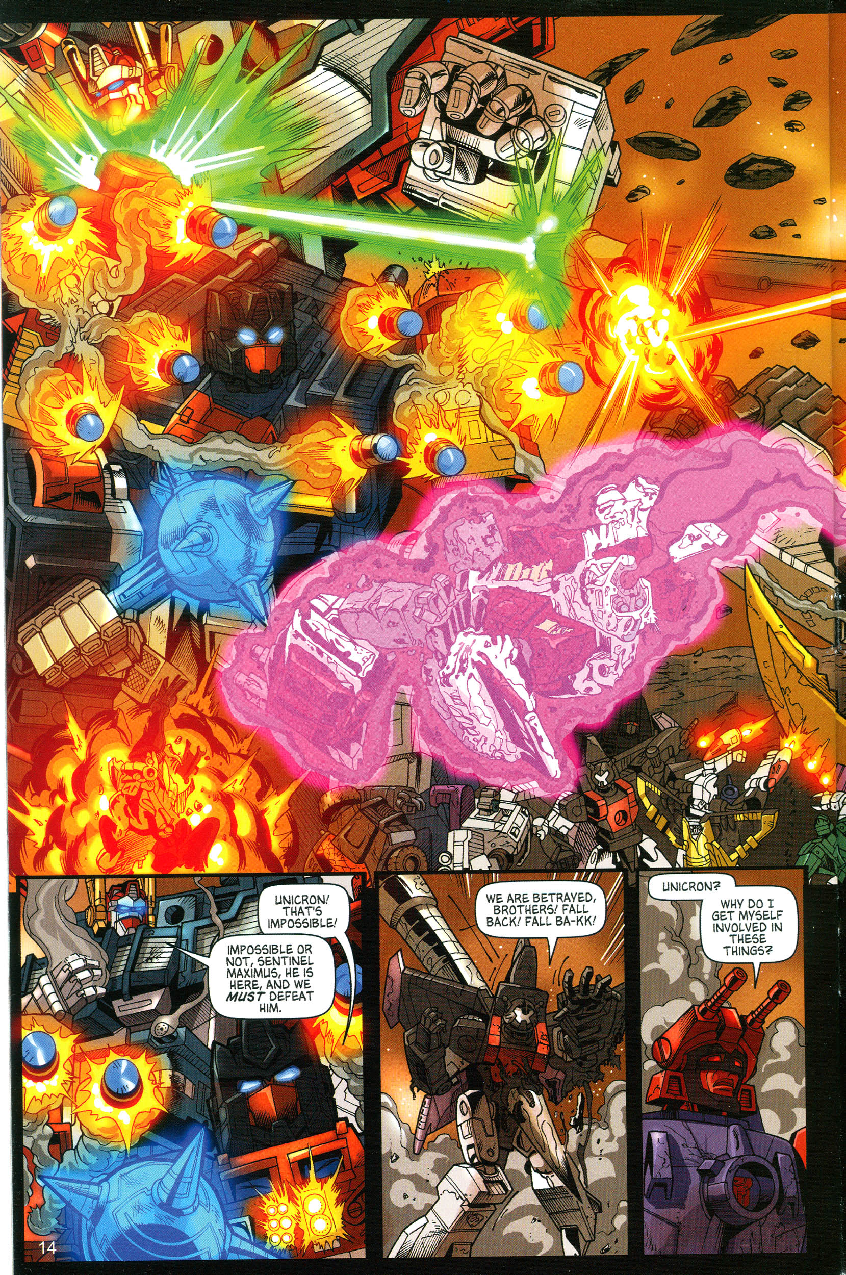 Read online Transformers: Collectors' Club comic -  Issue #11 - 14