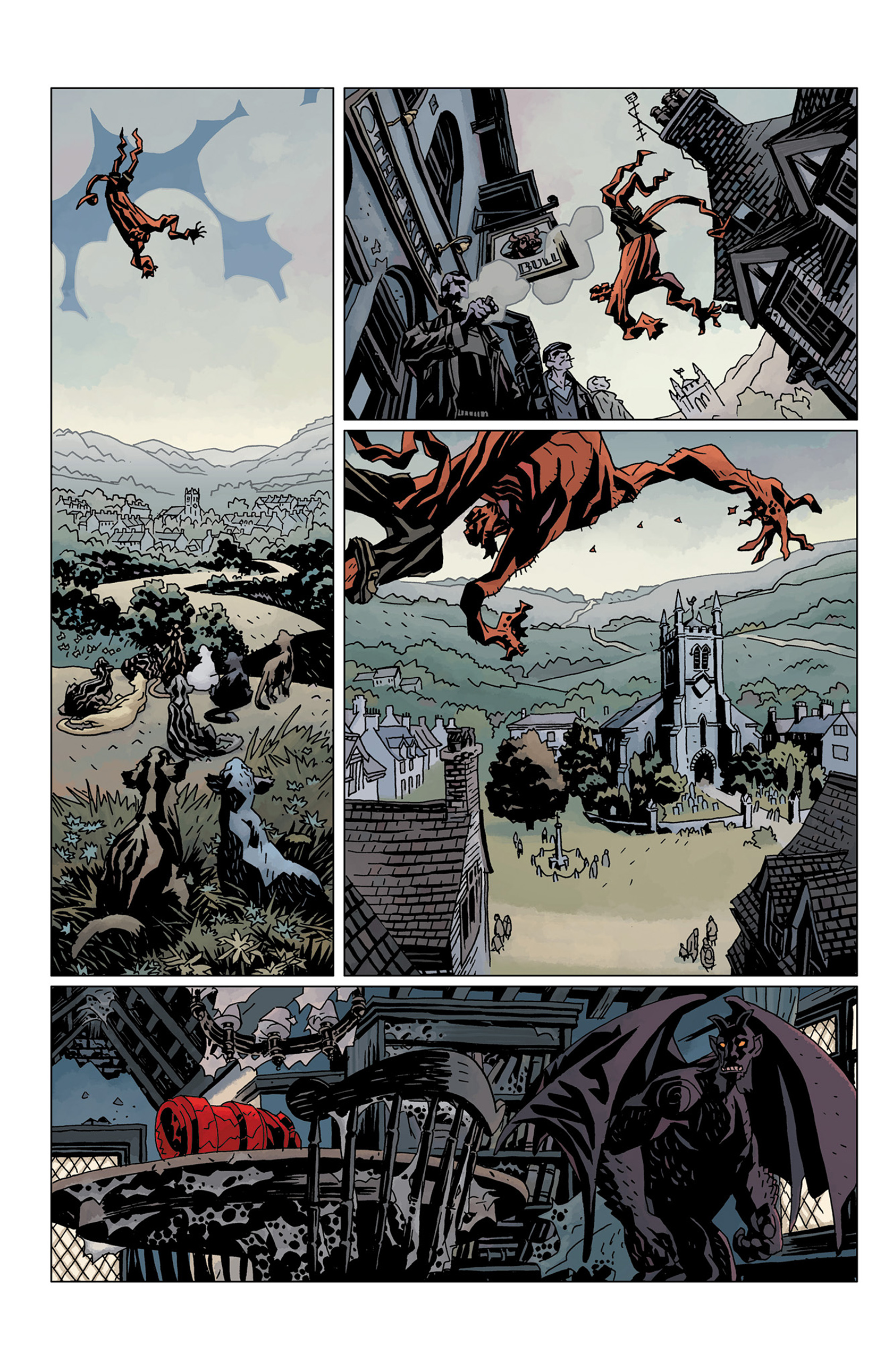 Read online Hellboy: The Crooked Man and Others comic -  Issue # TPB - 140