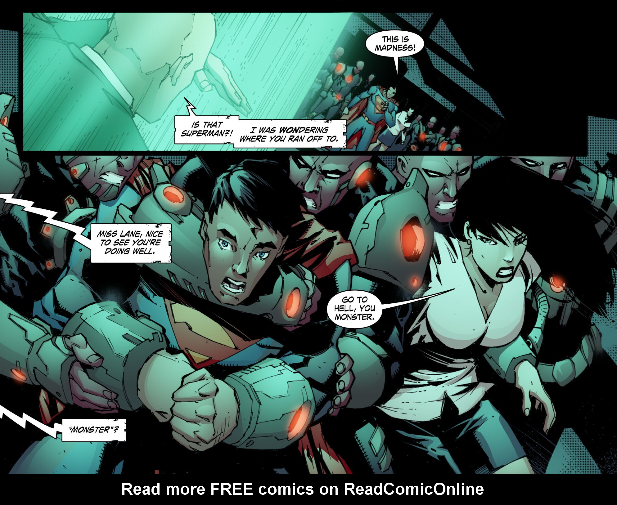 Read online Smallville: Chaos [II] comic -  Issue #10 - 18