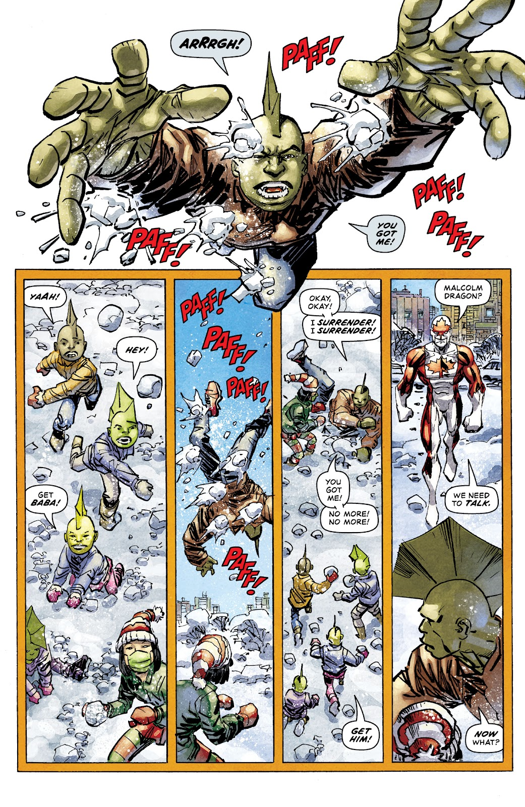 The Savage Dragon (1993) issue 257 - Page 12