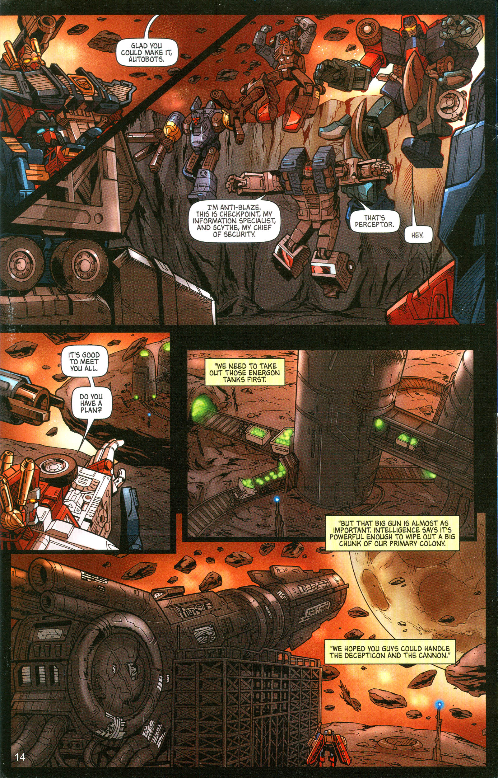 Read online Transformers: Collectors' Club comic -  Issue #10 - 14