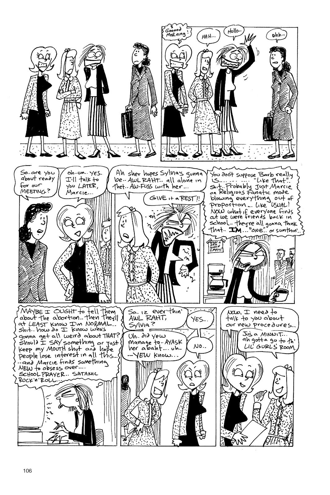 Read online Life's a Bitch: The Complete Bitchy Bitch Stories comic -  Issue # TPB (Part 2) - 4