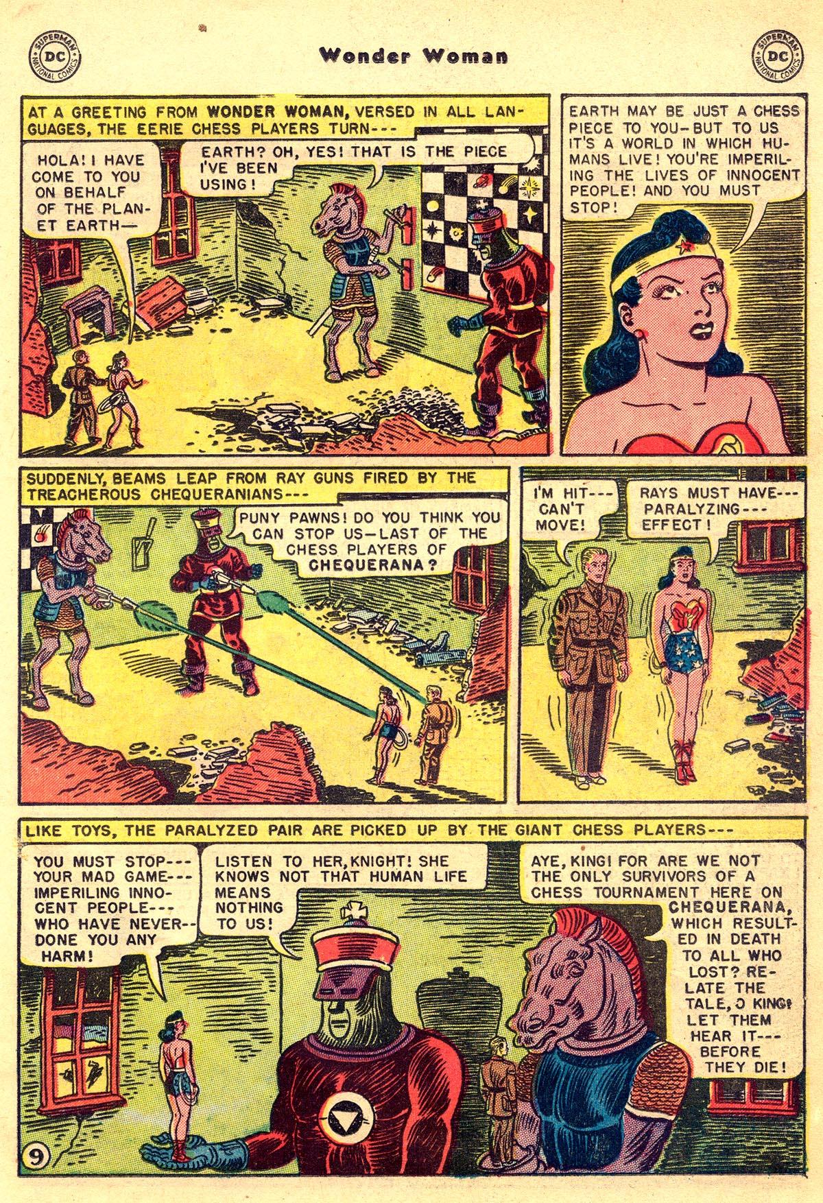 Read online Wonder Woman (1942) comic -  Issue #55 - 23