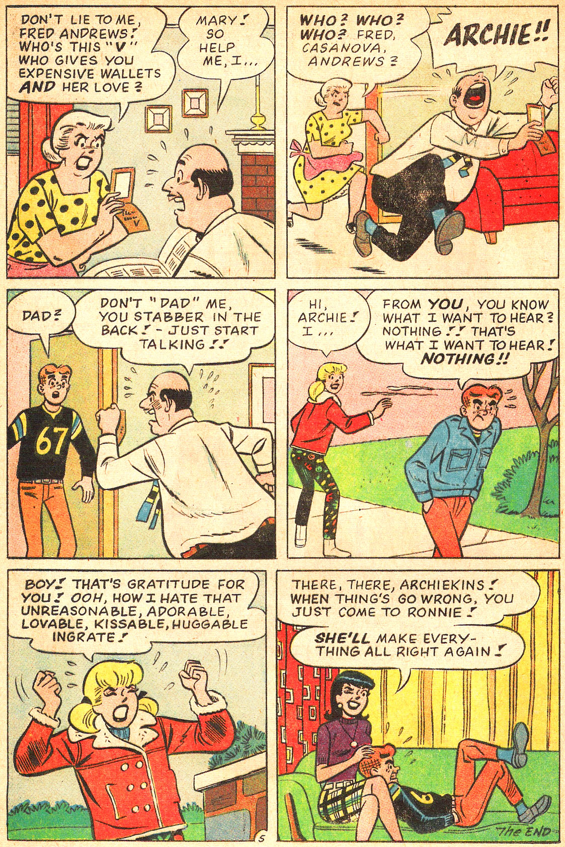 Read online Archie's Girls Betty and Veronica comic -  Issue #134 - 24
