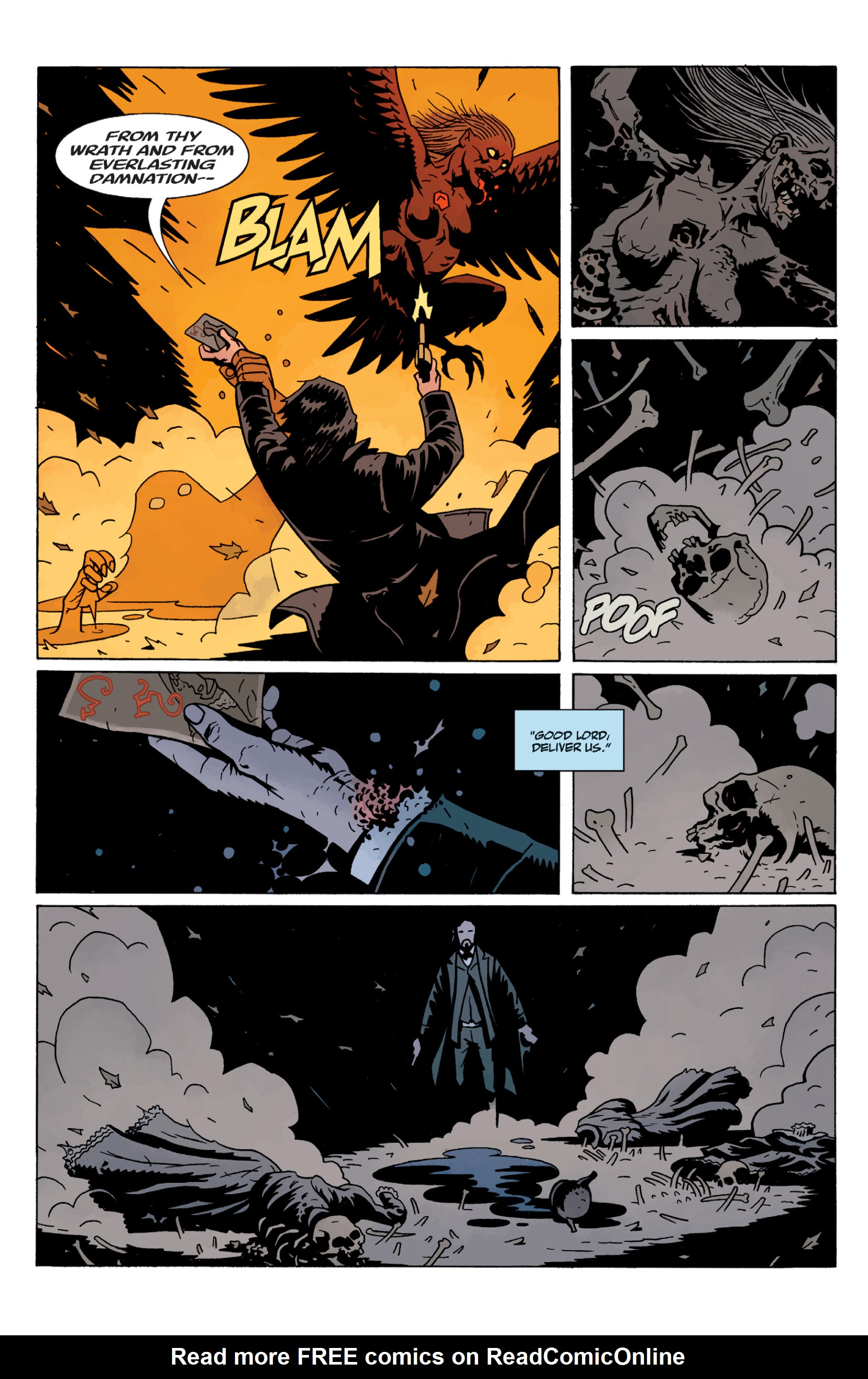 Read online Sir Edward Grey, Witchfinder: In the Service of Angels comic -  Issue # TPB - 134