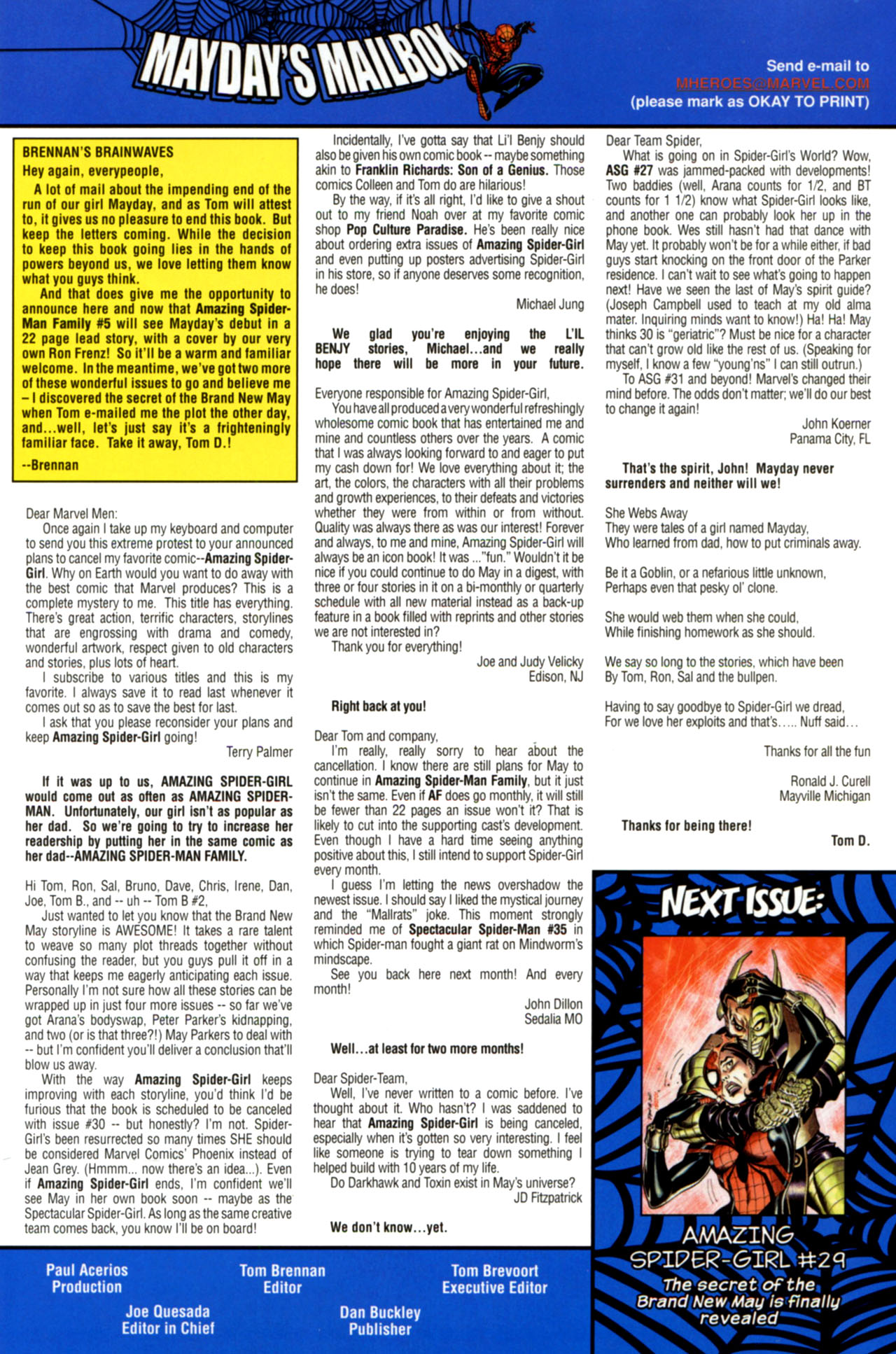 Read online Amazing Spider-Girl comic -  Issue #28 - 25