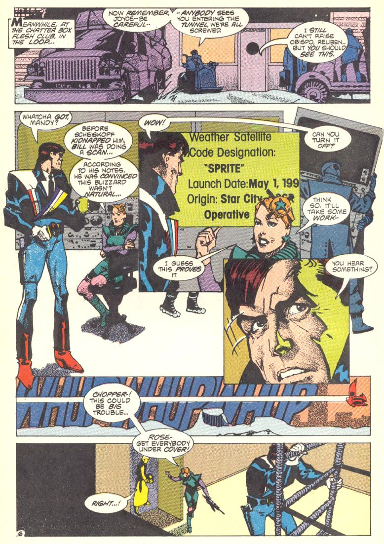 Read online American Flagg! comic -  Issue #10 - 7