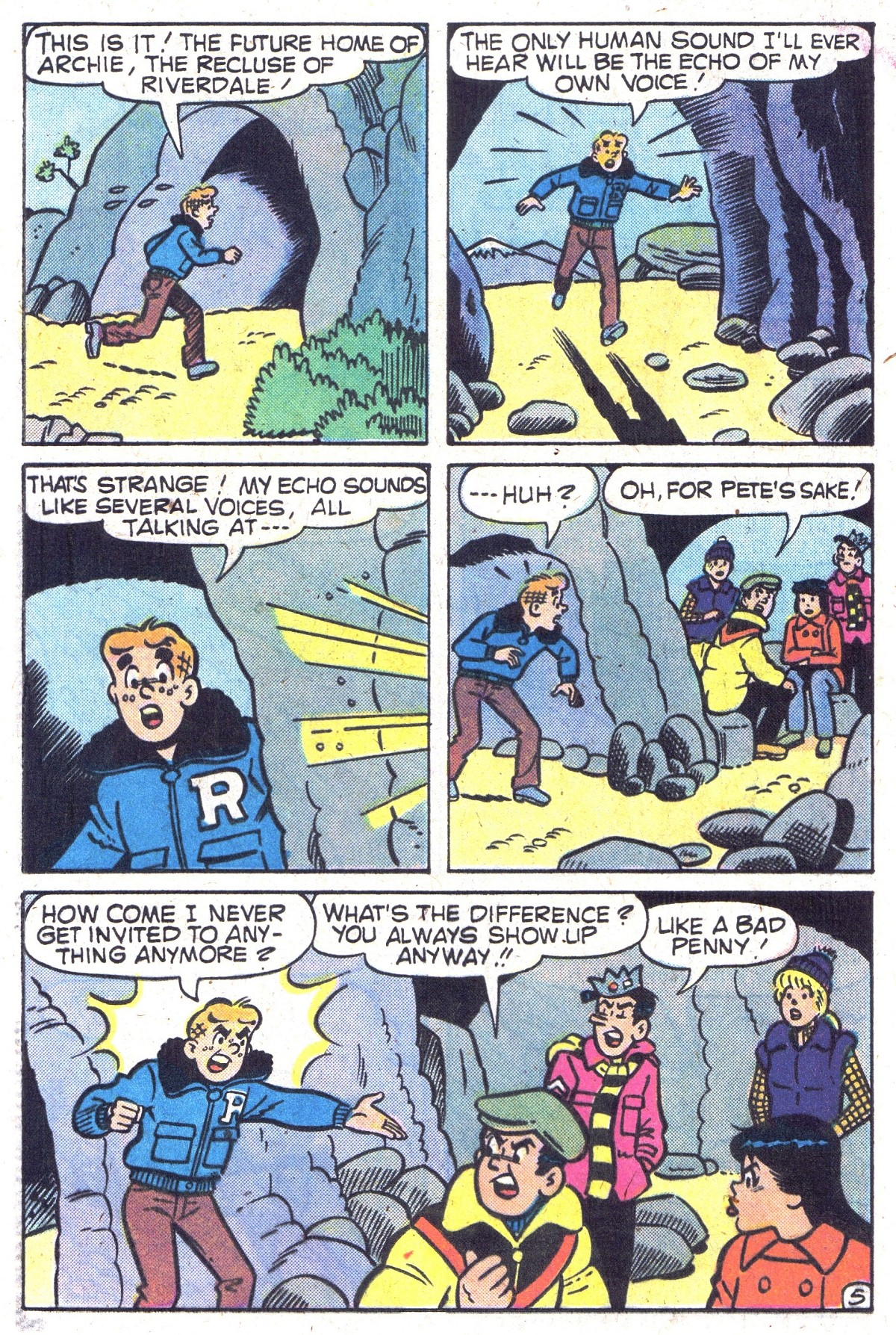 Read online Archie (1960) comic -  Issue #300 - 24
