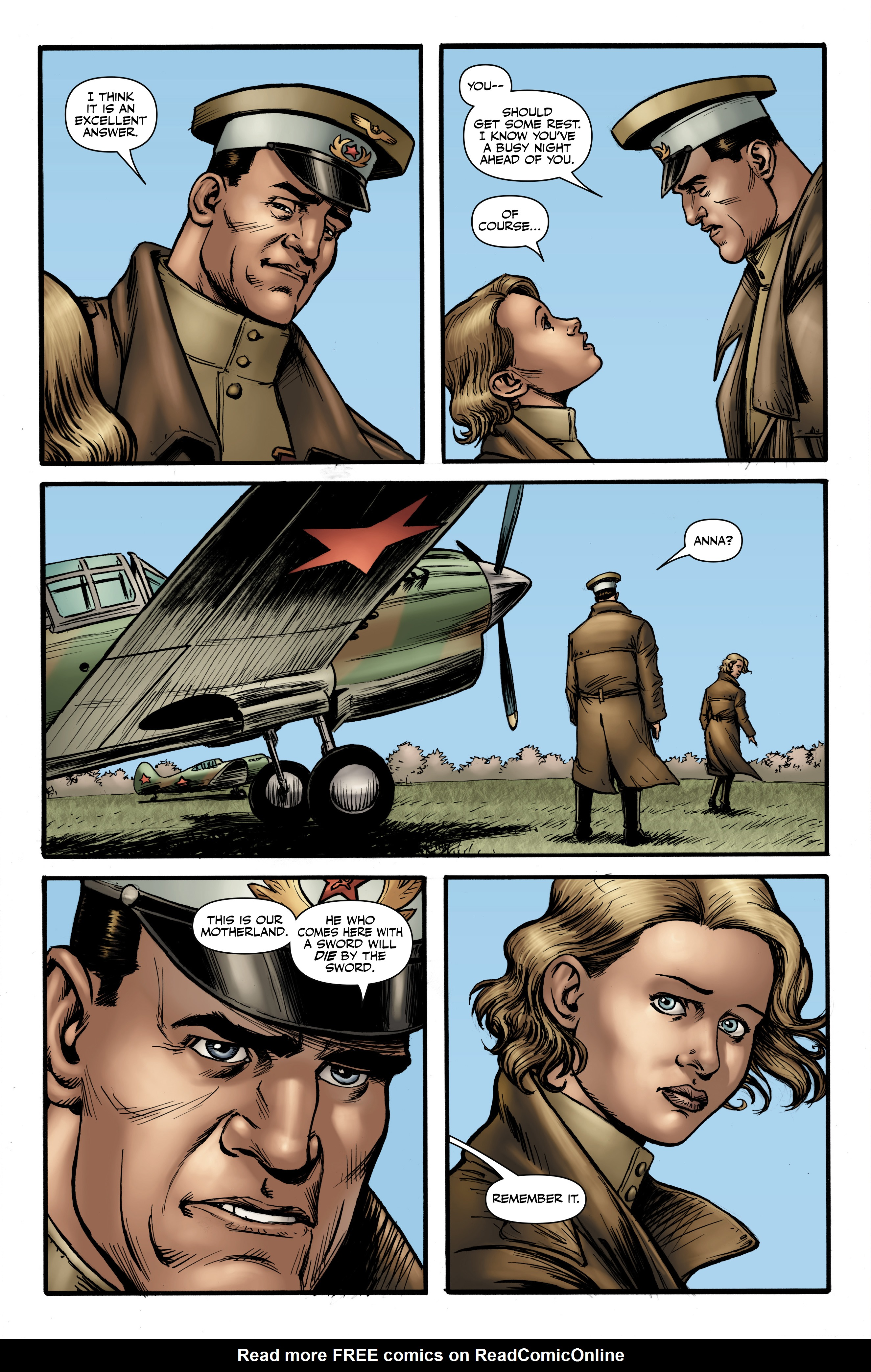 Read online Battlefields: Night Witches comic -  Issue # TPB - 48