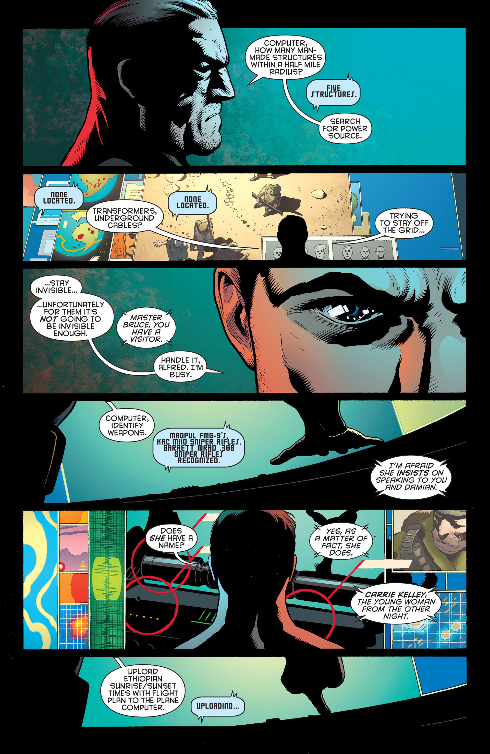 Read online Batman and Robin (2011) comic -  Issue #20 - 3