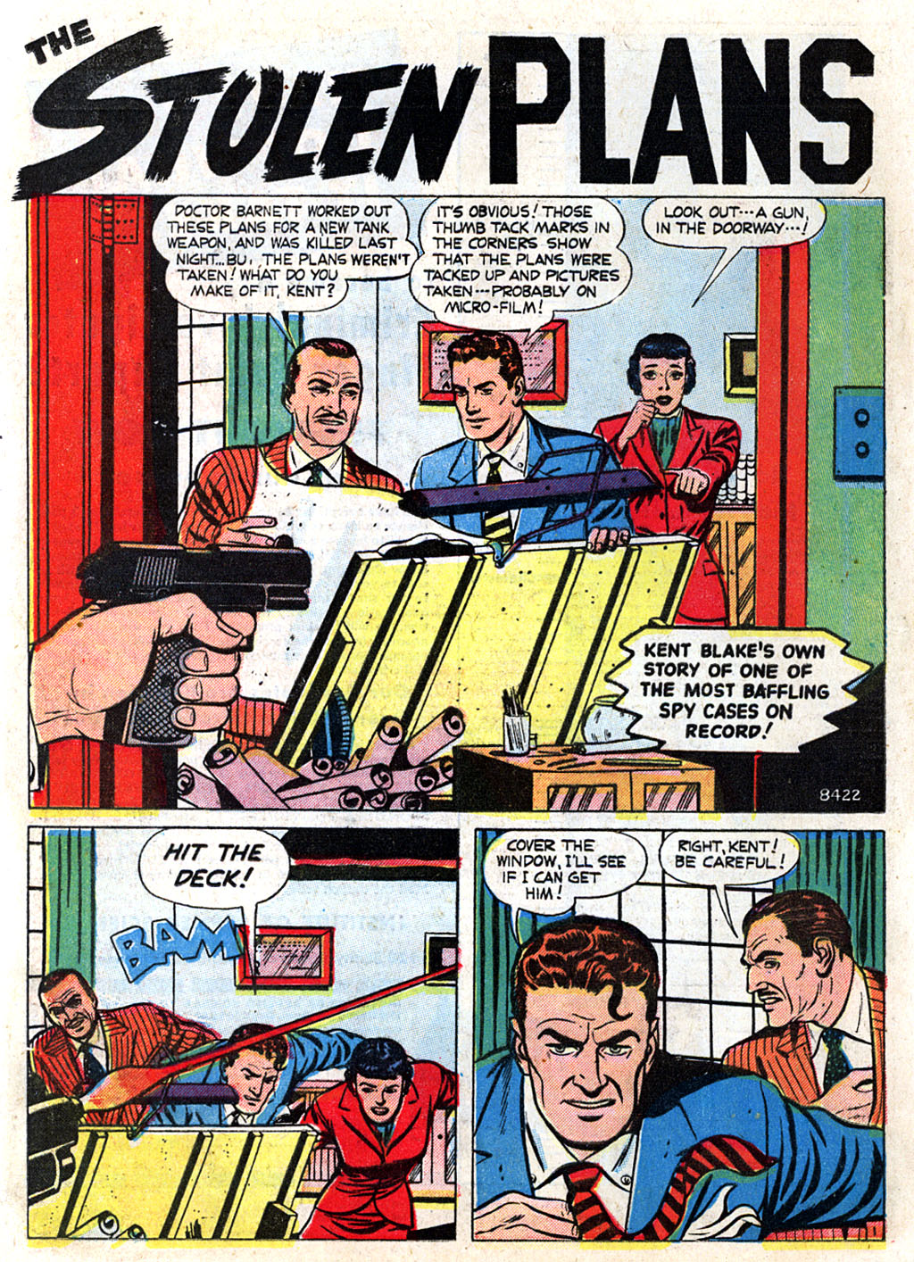 Kent Blake of the Secret Service issue 3 - Page 12