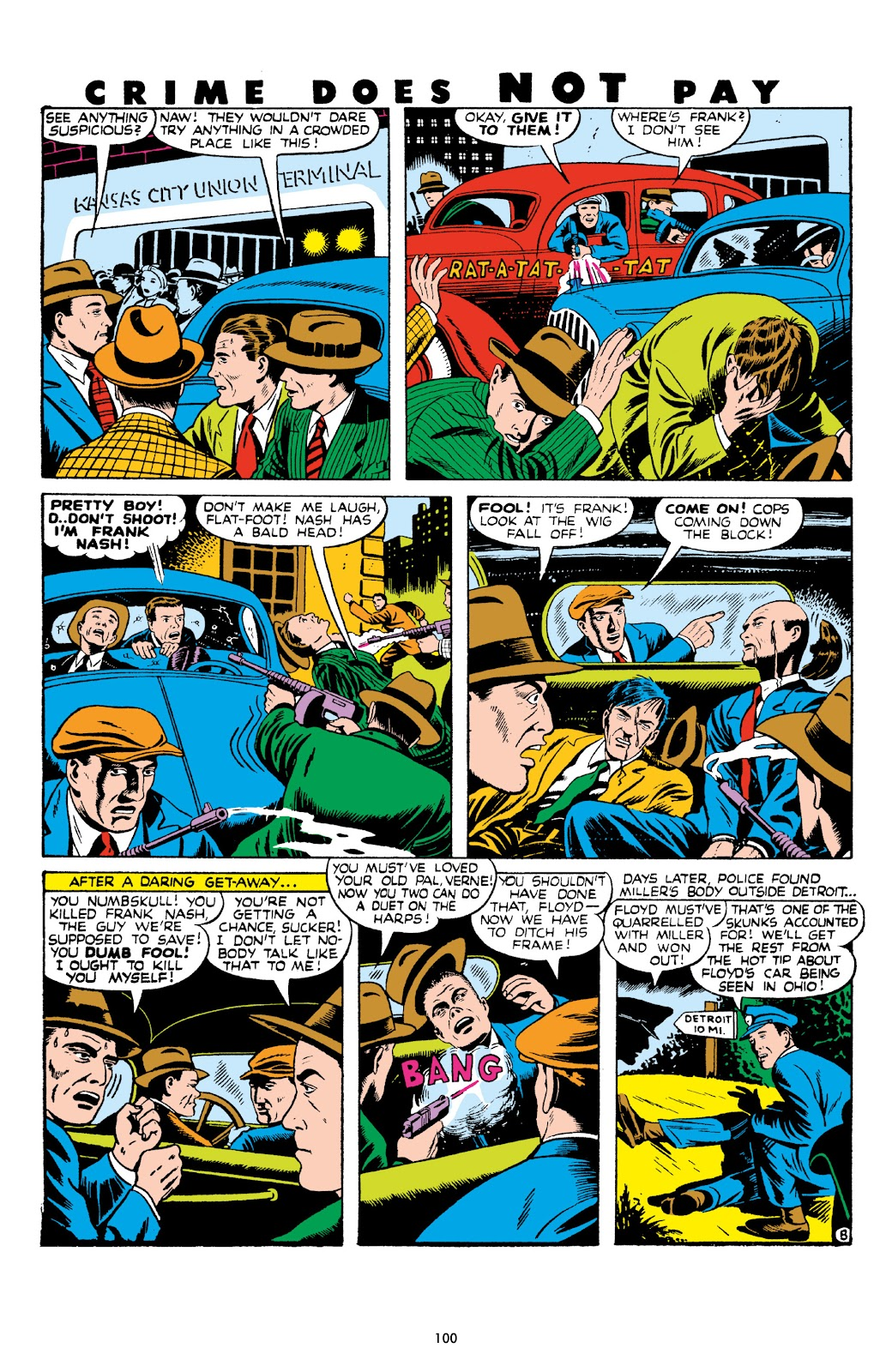 Read online Crime Does Not Pay Archives comic -  Issue # TPB 8 (Part 2) - 1