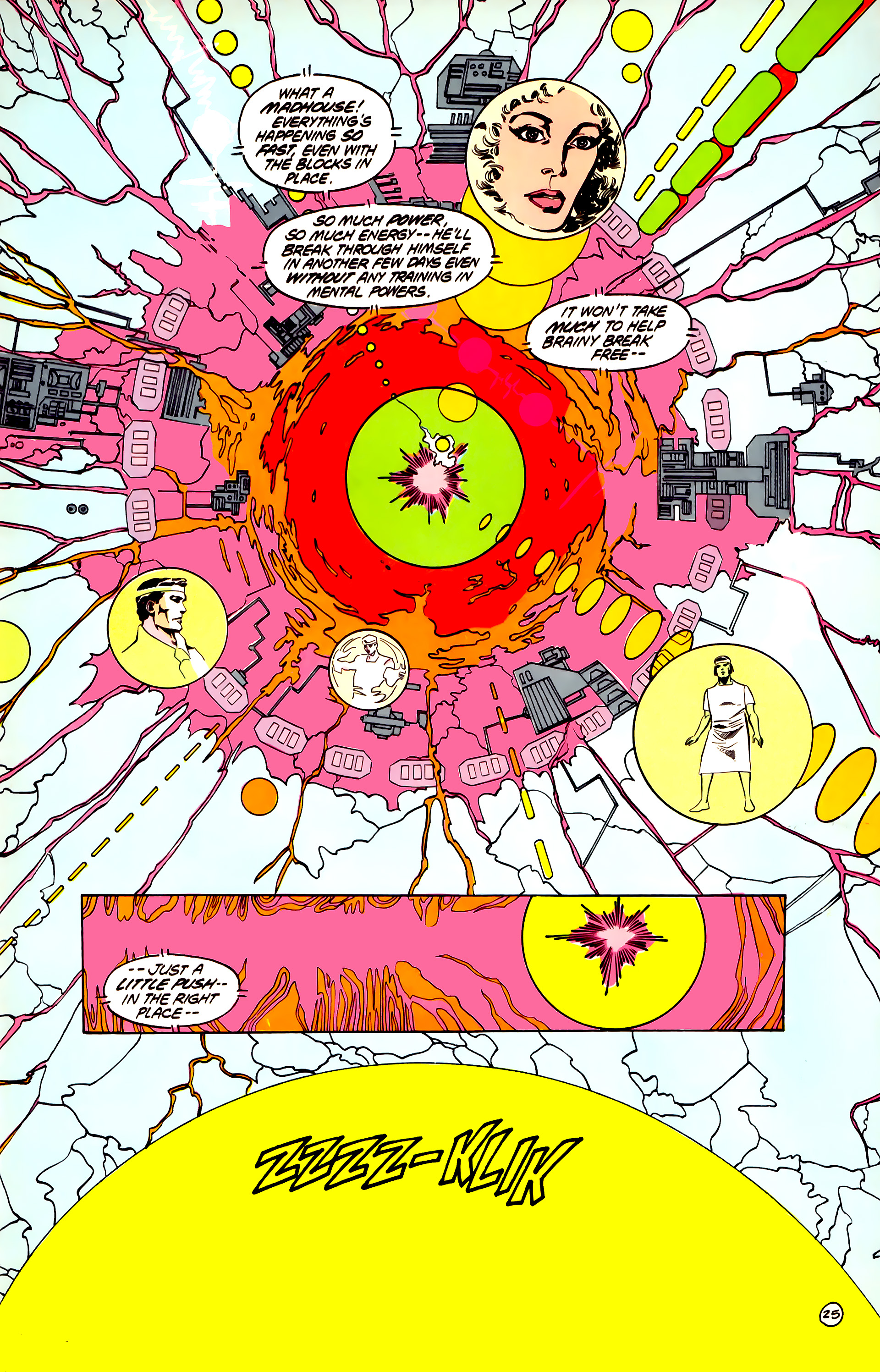 Legion of Super-Heroes (1984) 32 Page 24