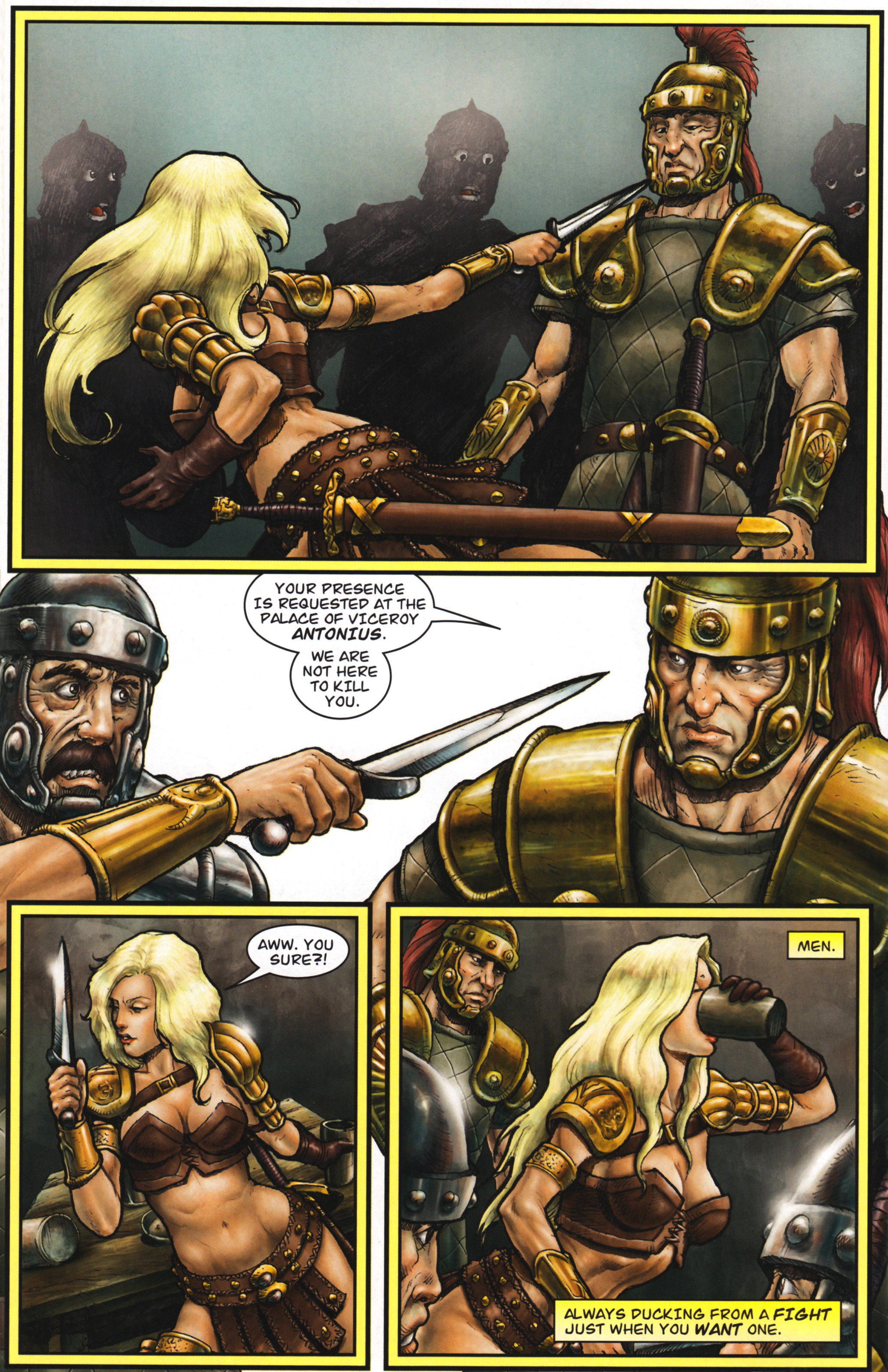 Read online Arhian: Head Huntress comic -  Issue #1 - 26
