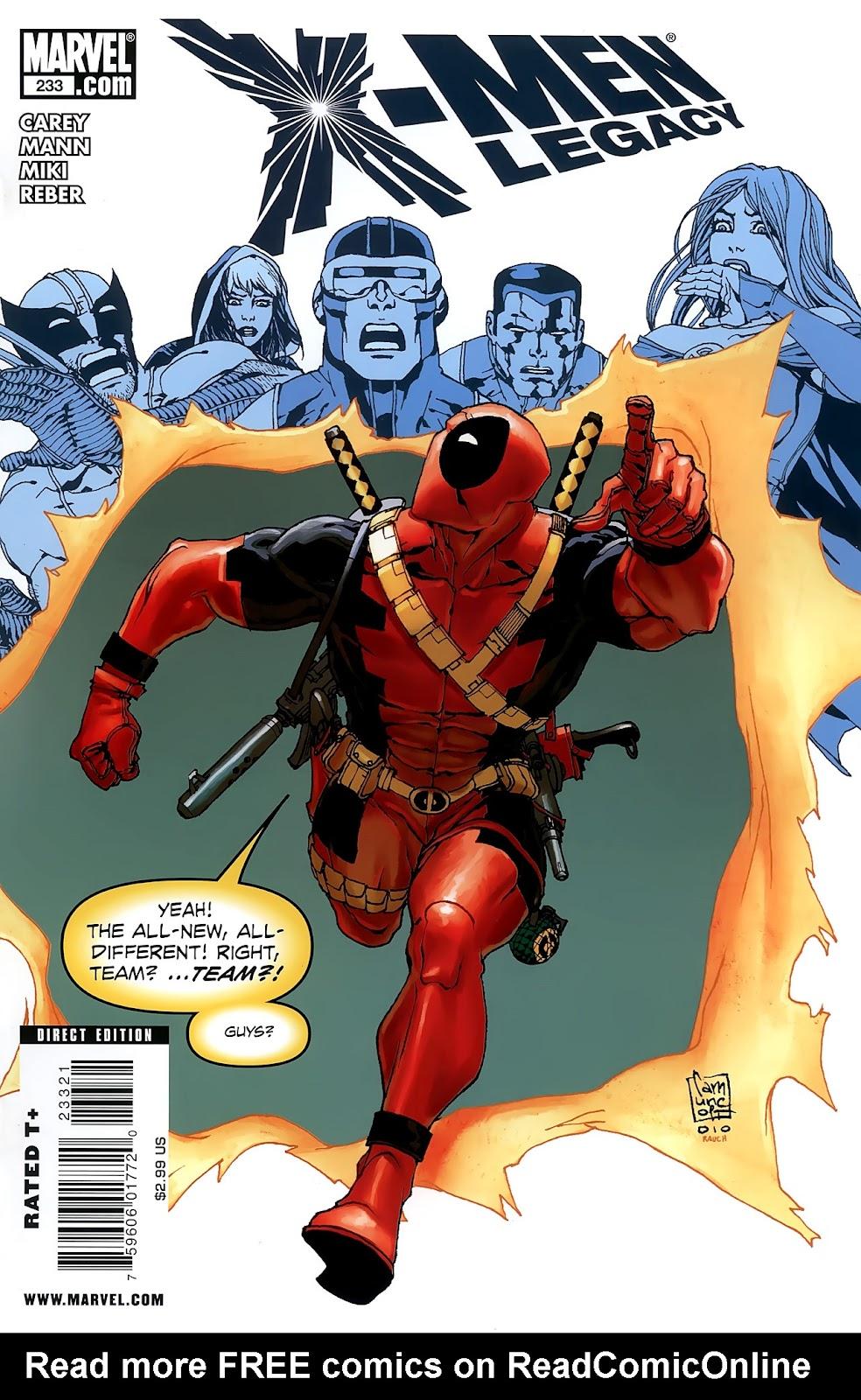 X-Men Legacy (2008) 233 Page 1