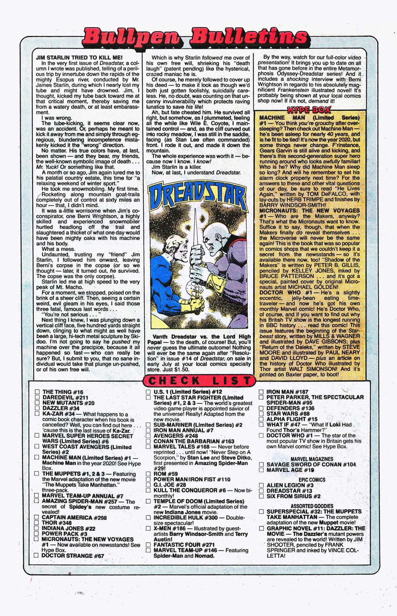 Read online Alpha Flight (1983) comic -  Issue #15 - 24
