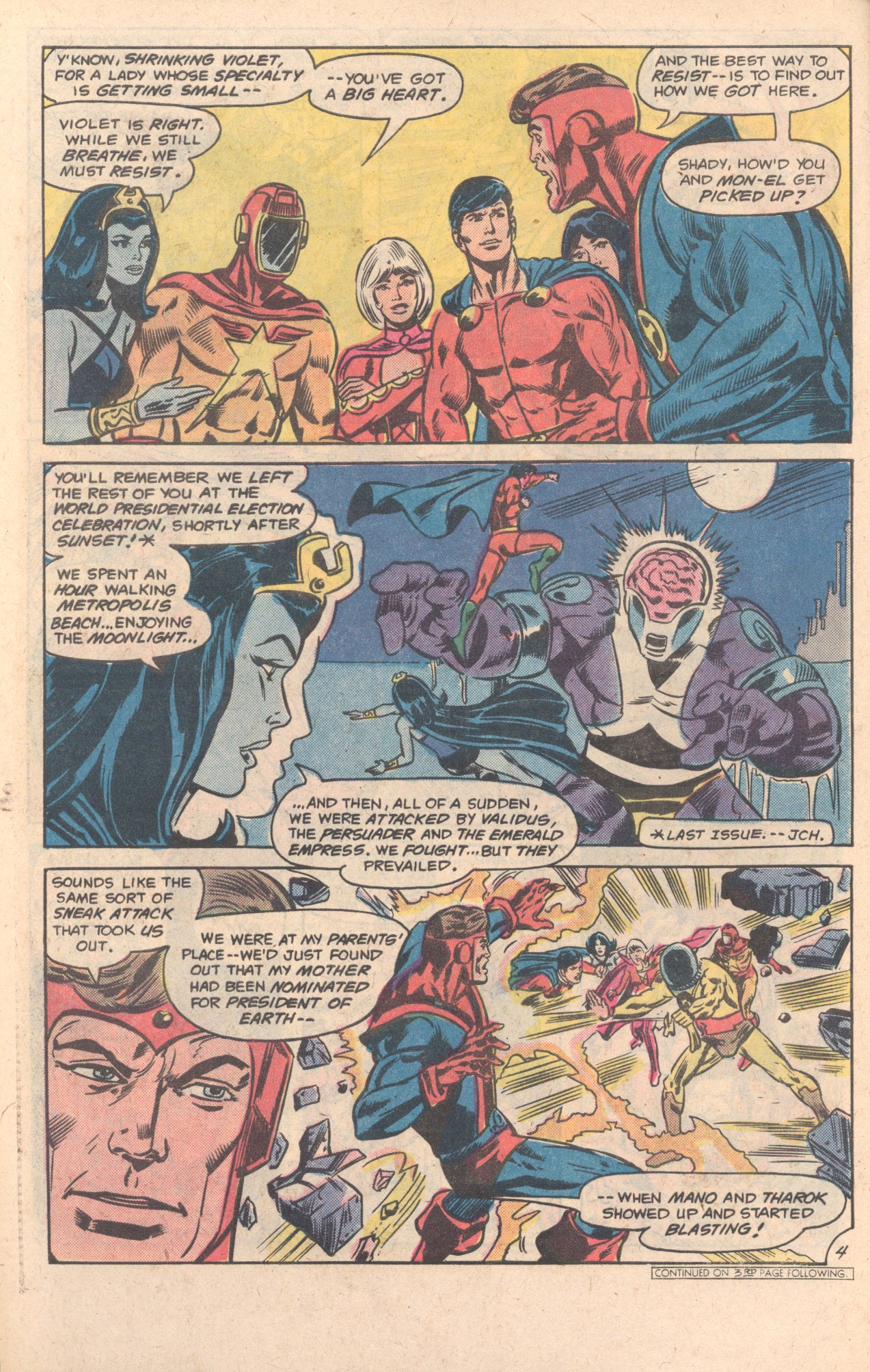 Legion of Super-Heroes (1980) 270 Page 4