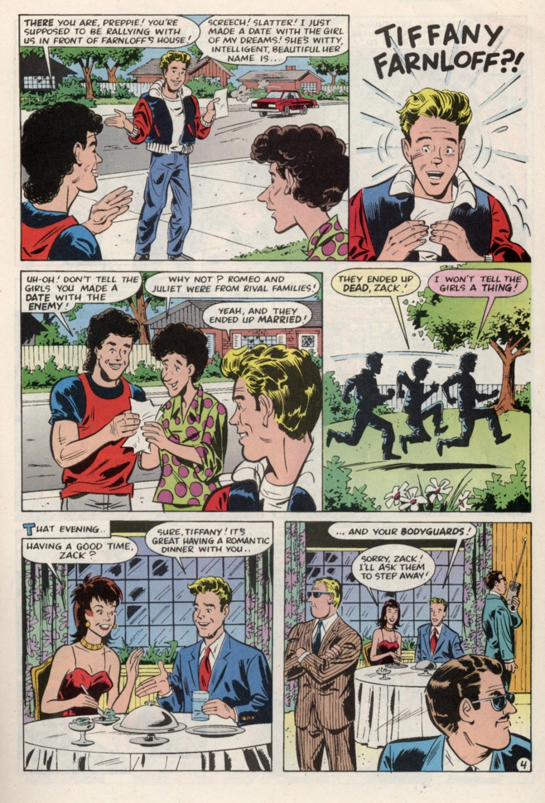 Read online Saved By The Bell comic -  Issue #4 - 7