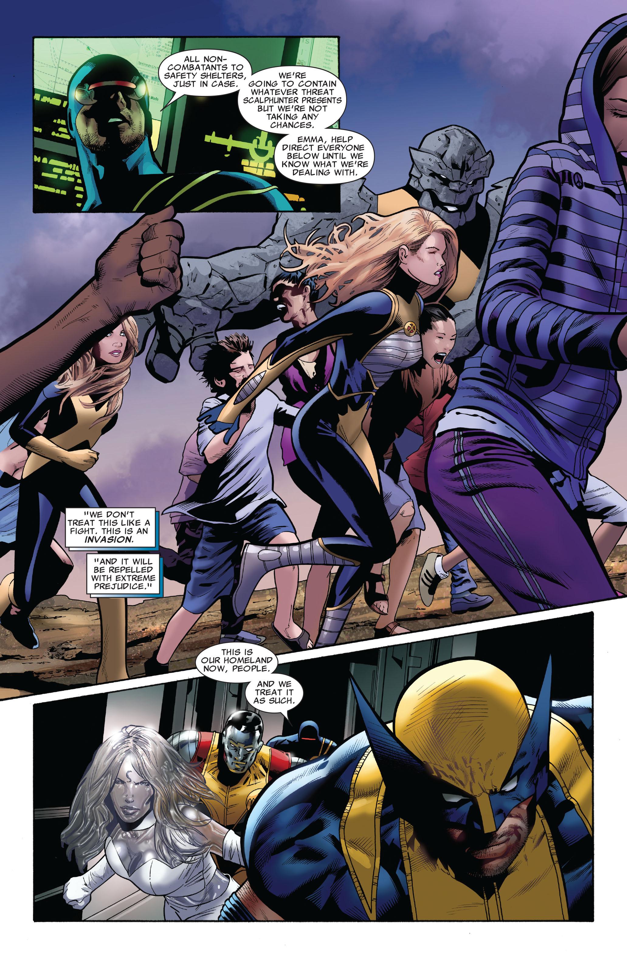 Read online Uncanny X-Men (1963) comic -  Issue #516 - 22