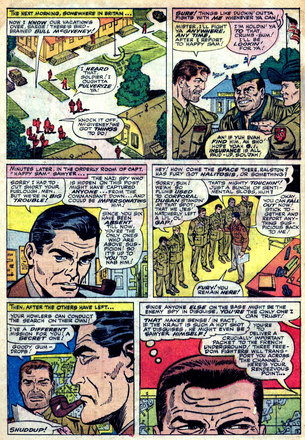 Read online Sgt. Fury comic -  Issue #25 - 4